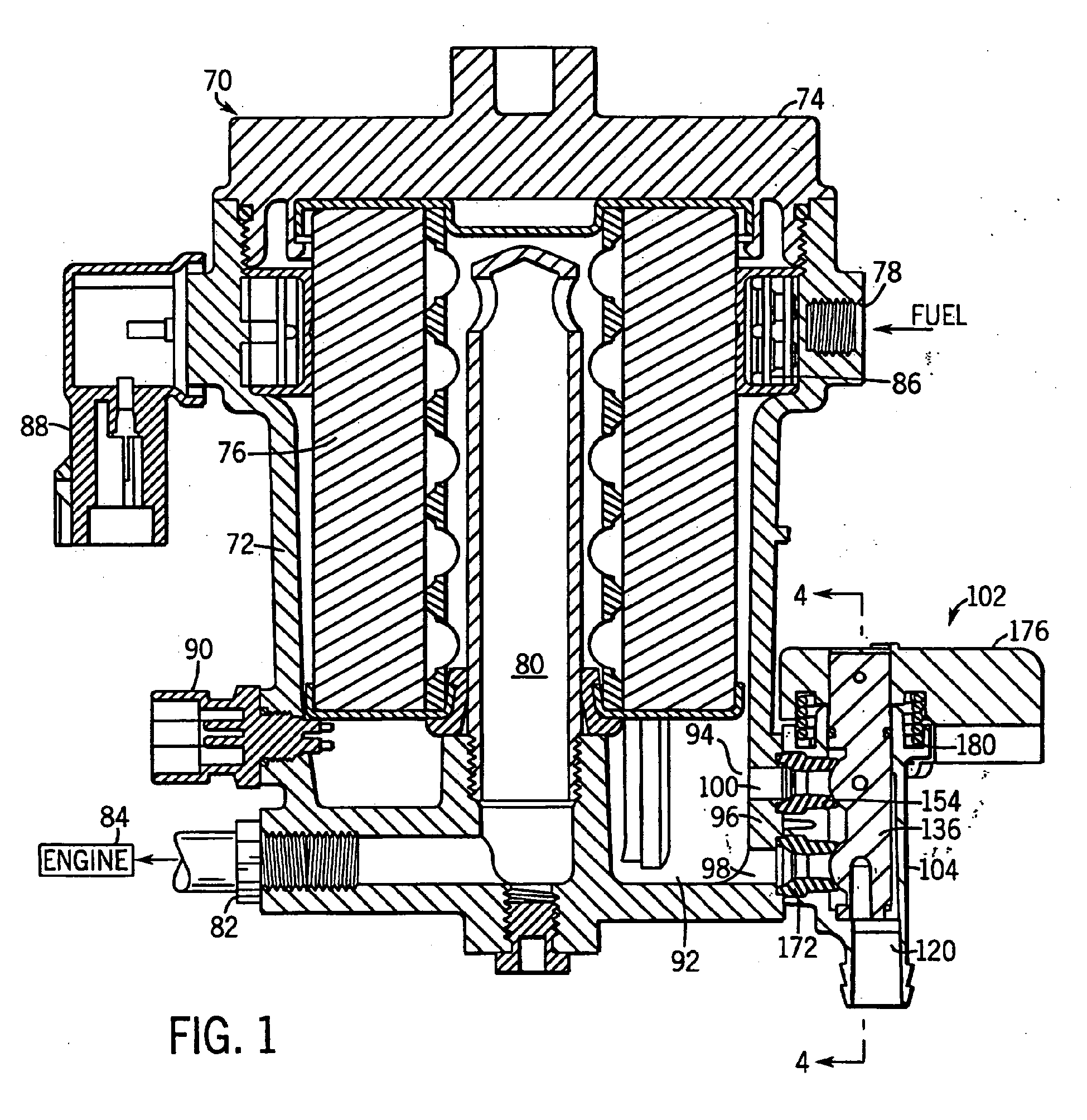 Patent Ep1090667b1 Drain Valve For Fuel Filter Water