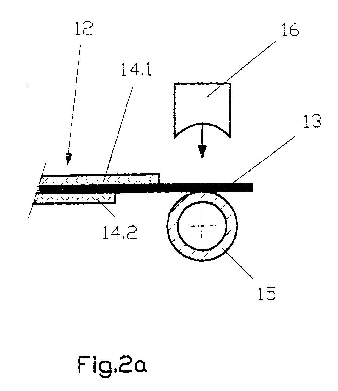 EP1100139A1 - Gewickelte Batterie - Google Patents