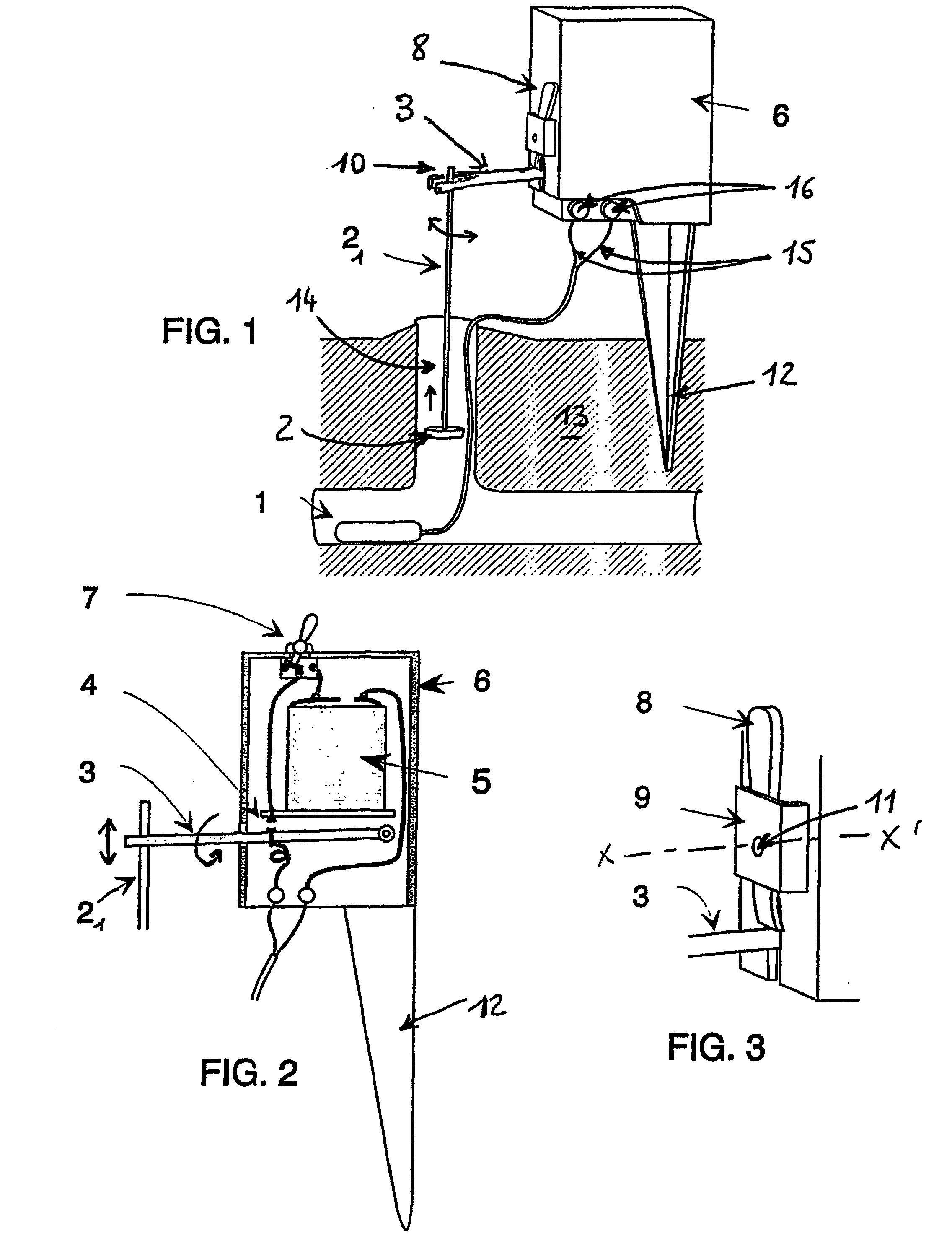 patent ep1109446b1 dispositif de securite pour piege a taupe a petard google patents. Black Bedroom Furniture Sets. Home Design Ideas