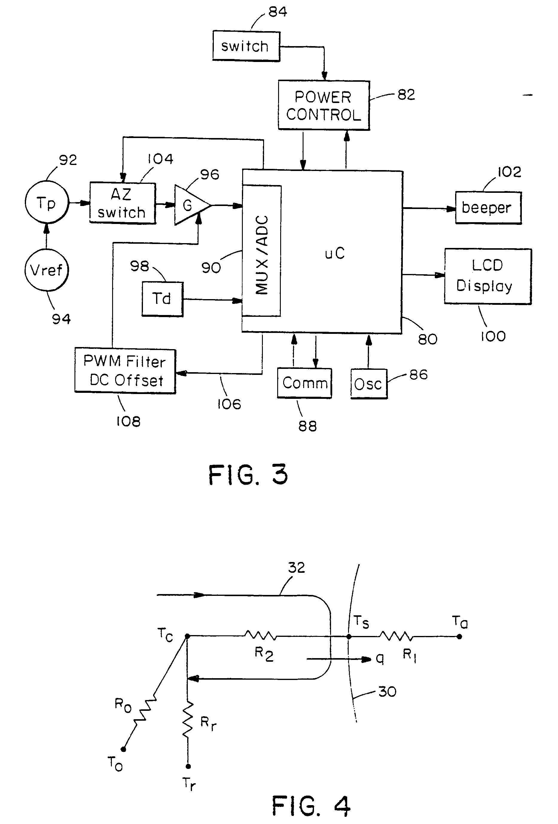 patent ep1114302b1 temporalarterie temperaturerkennung. Black Bedroom Furniture Sets. Home Design Ideas