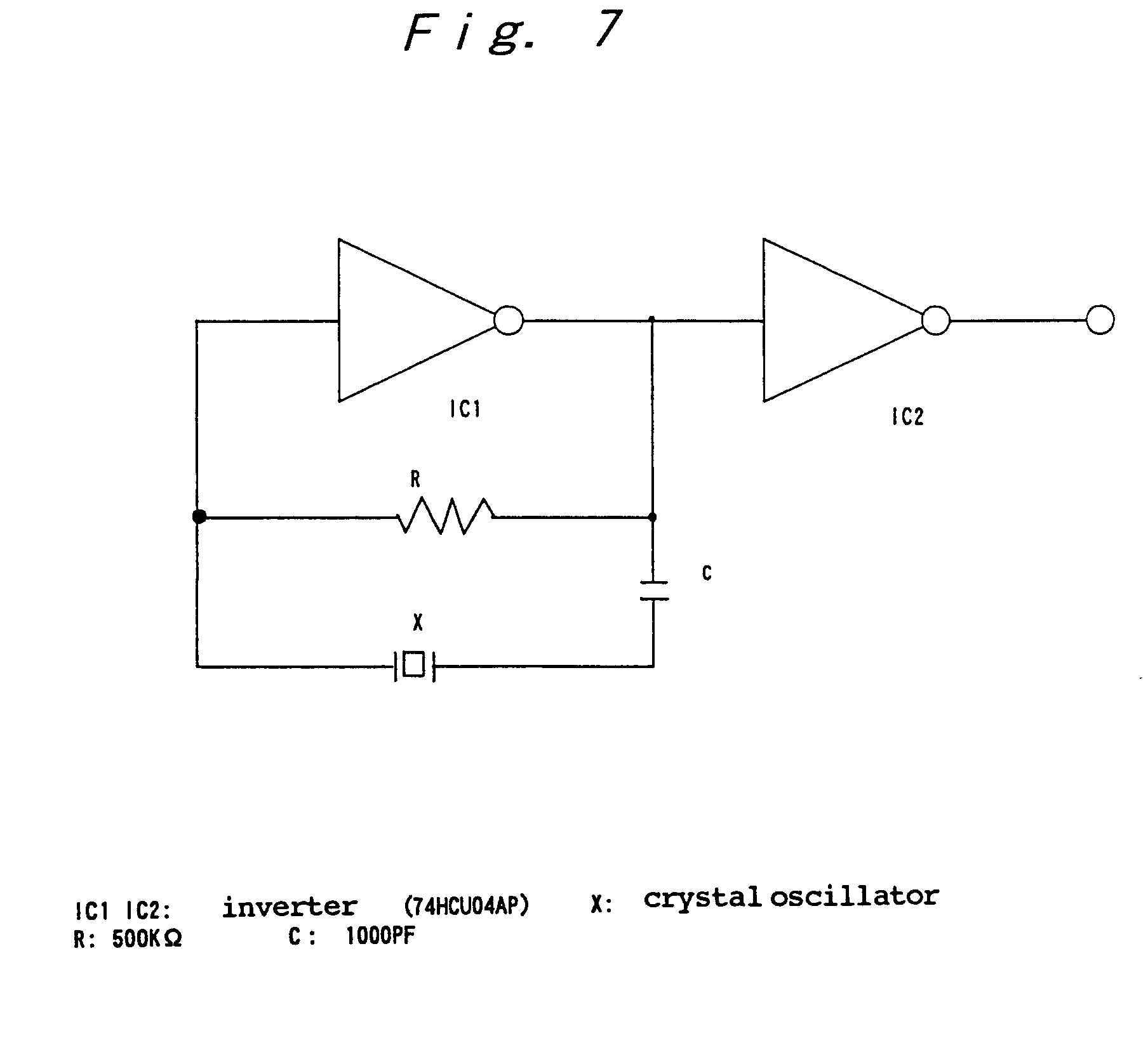 Patent Ep1146634a2 High Frequency Oscillation Circuit Google Patents Oscillator Diagram Composed Of Crystal Inverter Drawing