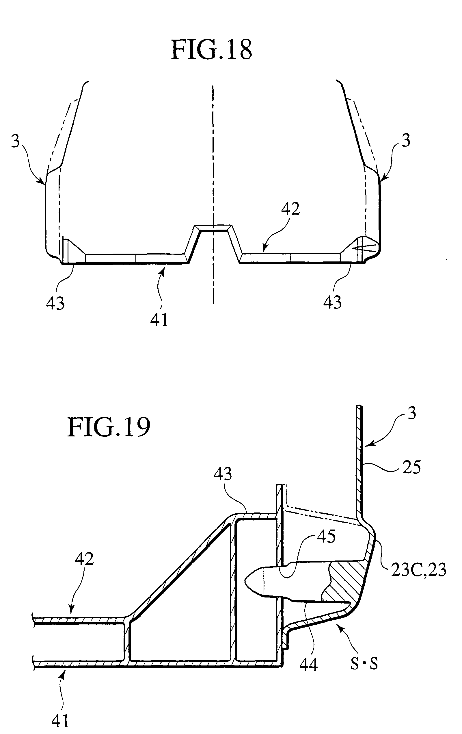 Patent EP1149757A2 - Car body assembling method and body structure ...