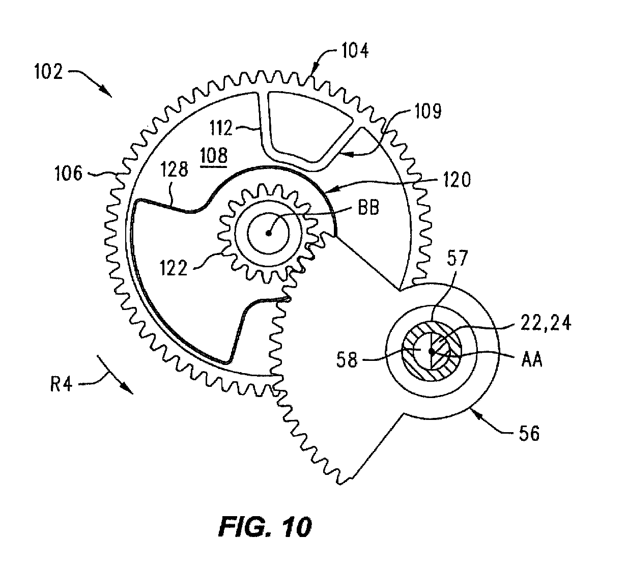 Patent Ep1160783a1 Split Compound Gear Assembly For A
