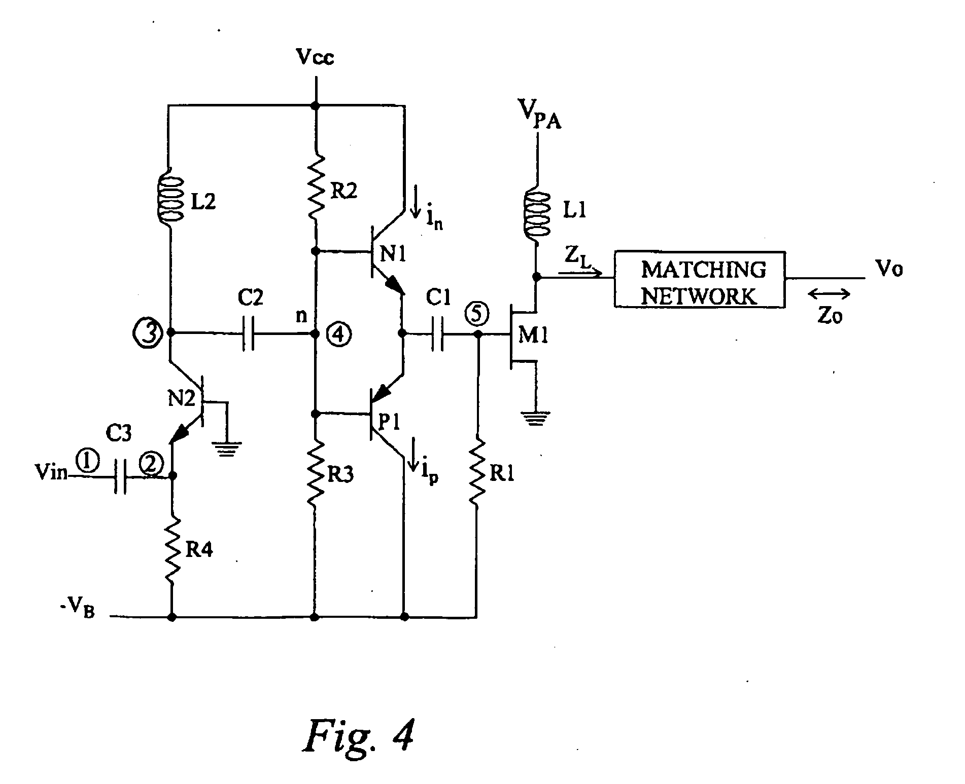 patent ep1201025b1 - driving circuits for switch mode rf power amplifiers