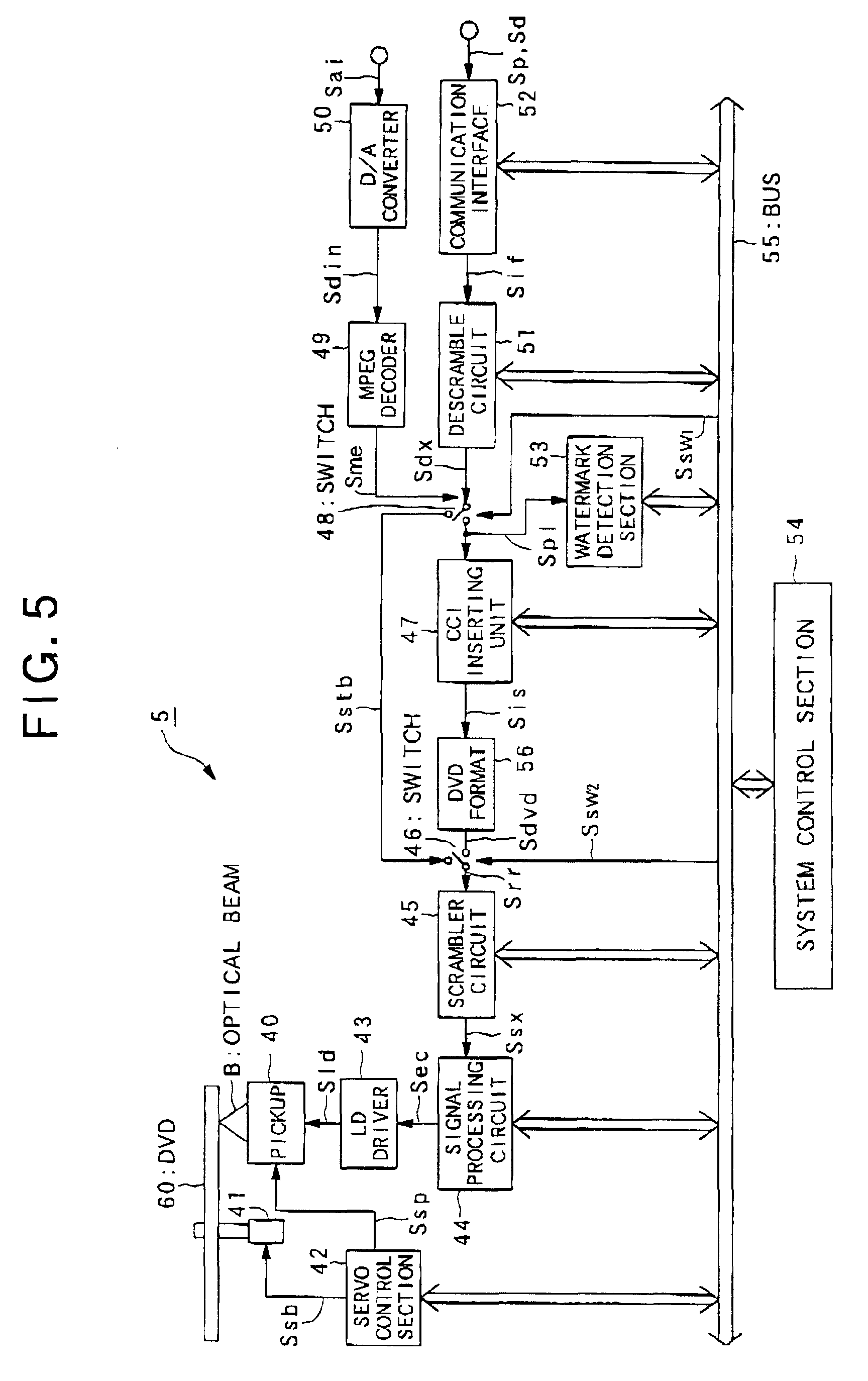 Patent Ep1202271a2 Copy Control For Information Output Apparatus Circuit Diagram Dvd Servo Drawing