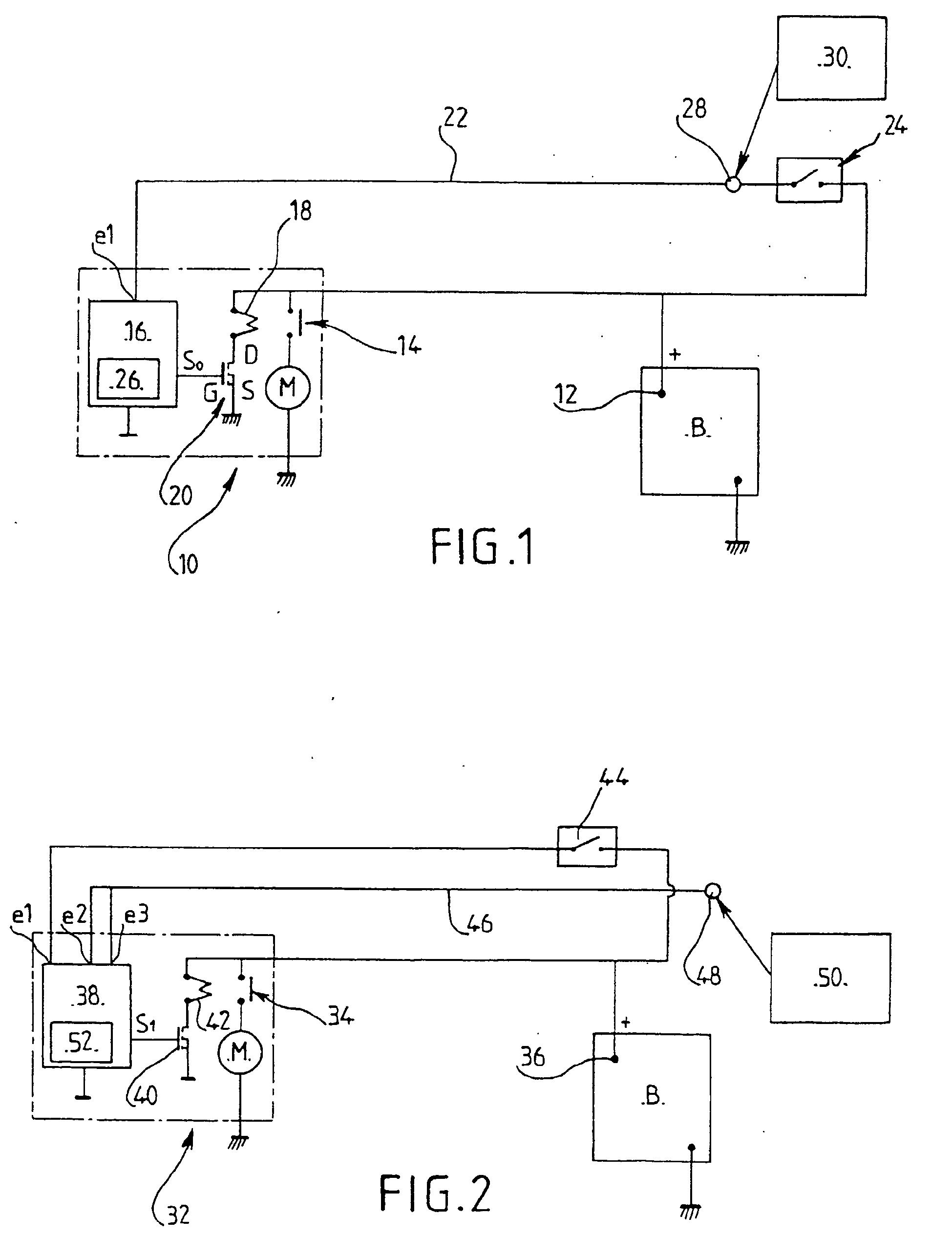 patent ep1219968b1 d marreur de v hicule automobile et proc d de contr le du fonctionnement d. Black Bedroom Furniture Sets. Home Design Ideas