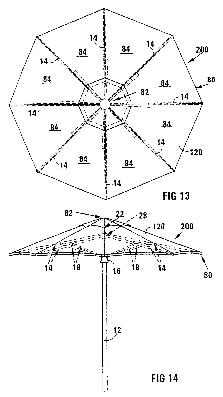 brevet ep1229809b1 mecanisme de parasol google brevets. Black Bedroom Furniture Sets. Home Design Ideas