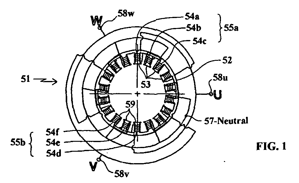 Patent Ep1244195a1 Winding Scheme For A Permanent Magnet