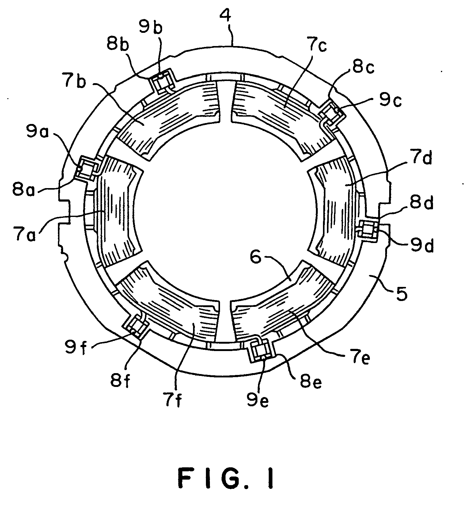 Patent EP1247322B1 - Stator winding connection arrangement for ...