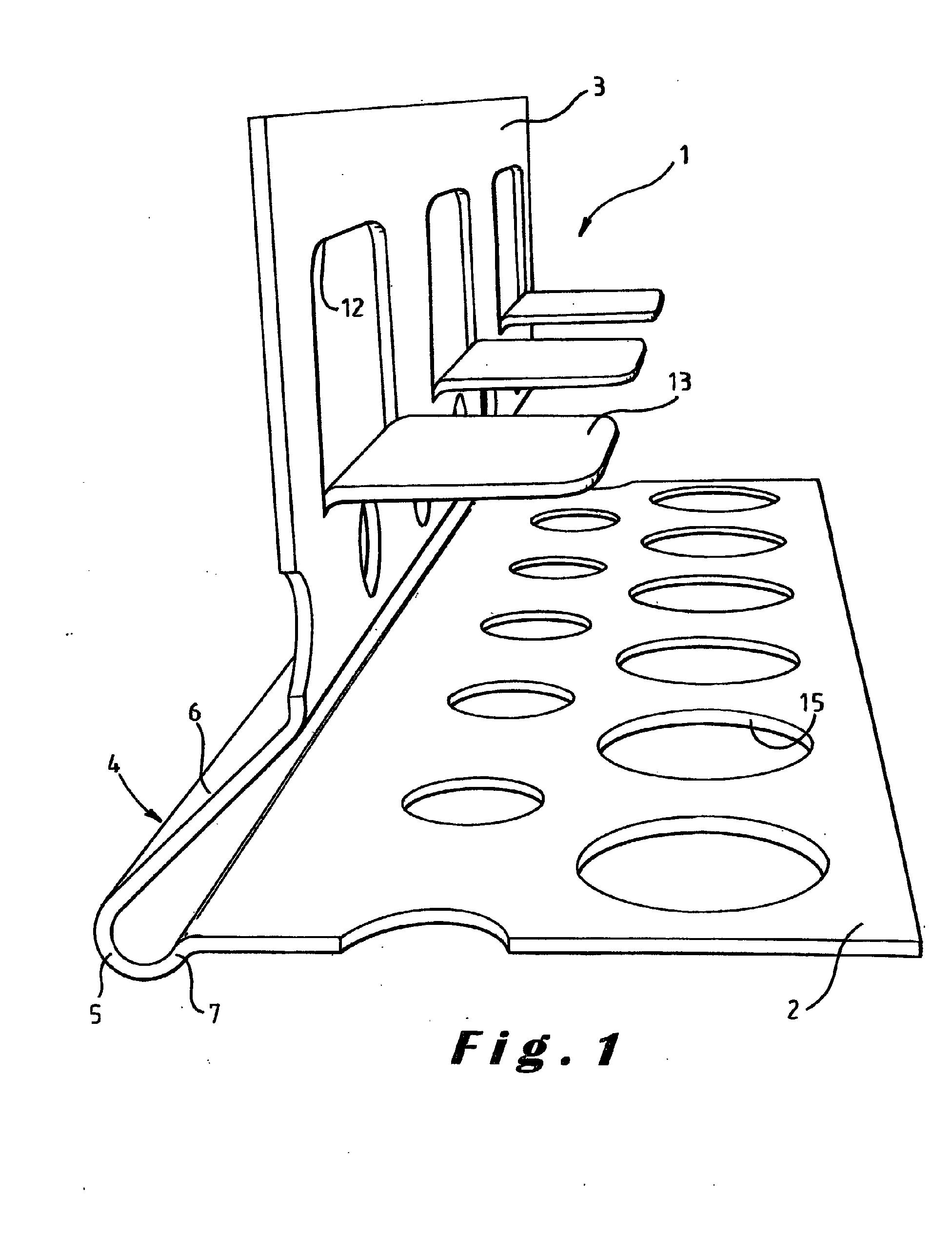 patent ep1270843a1 corni re de protection d 39 angle saillant google patents. Black Bedroom Furniture Sets. Home Design Ideas
