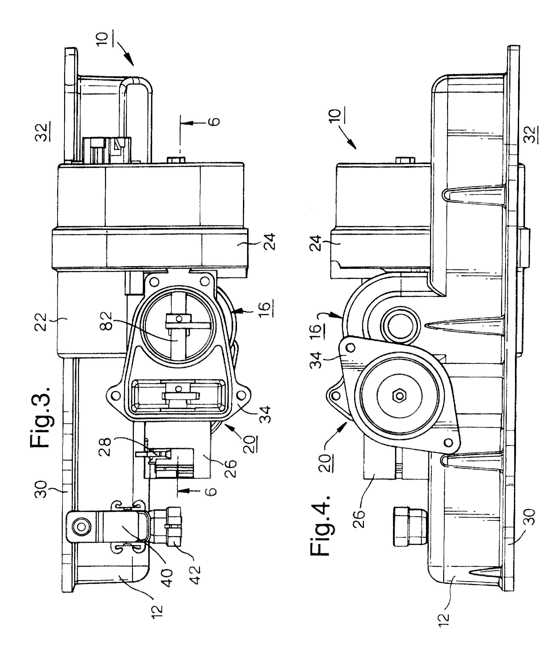 intake manifold of the internal combustion engine Citation: benajes, j, reyes, e, galindo, j, and peidro, j, predesign model for intake manifolds in internal combustion engines, sae technical paper.