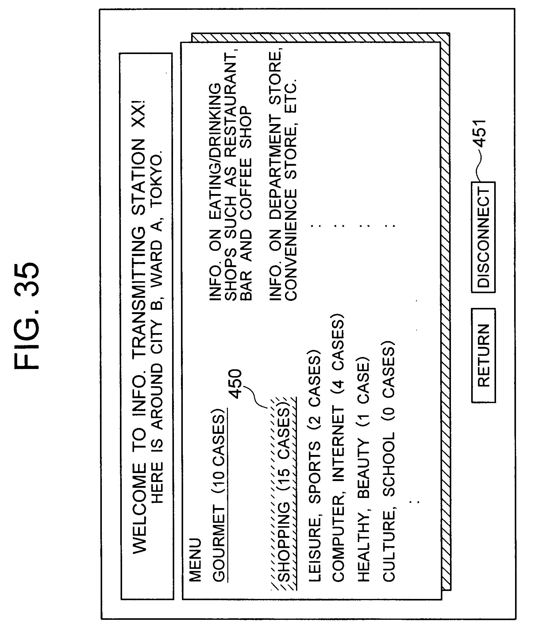 patent ep1271368a1 kommunikationsapparat und system und verfahren zum berechnen von. Black Bedroom Furniture Sets. Home Design Ideas