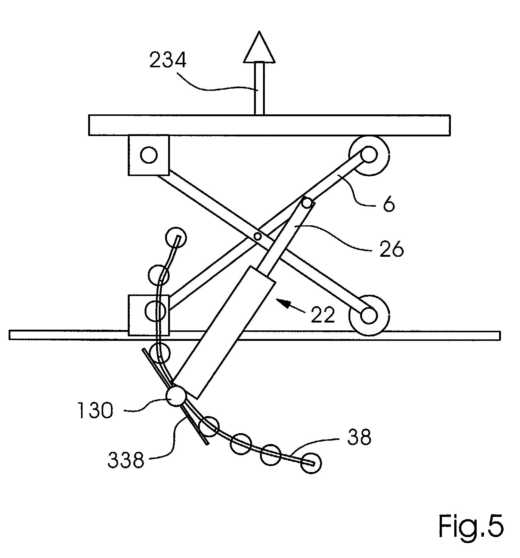 patent ep1275611a1 table l vatrice ciseaux google. Black Bedroom Furniture Sets. Home Design Ideas