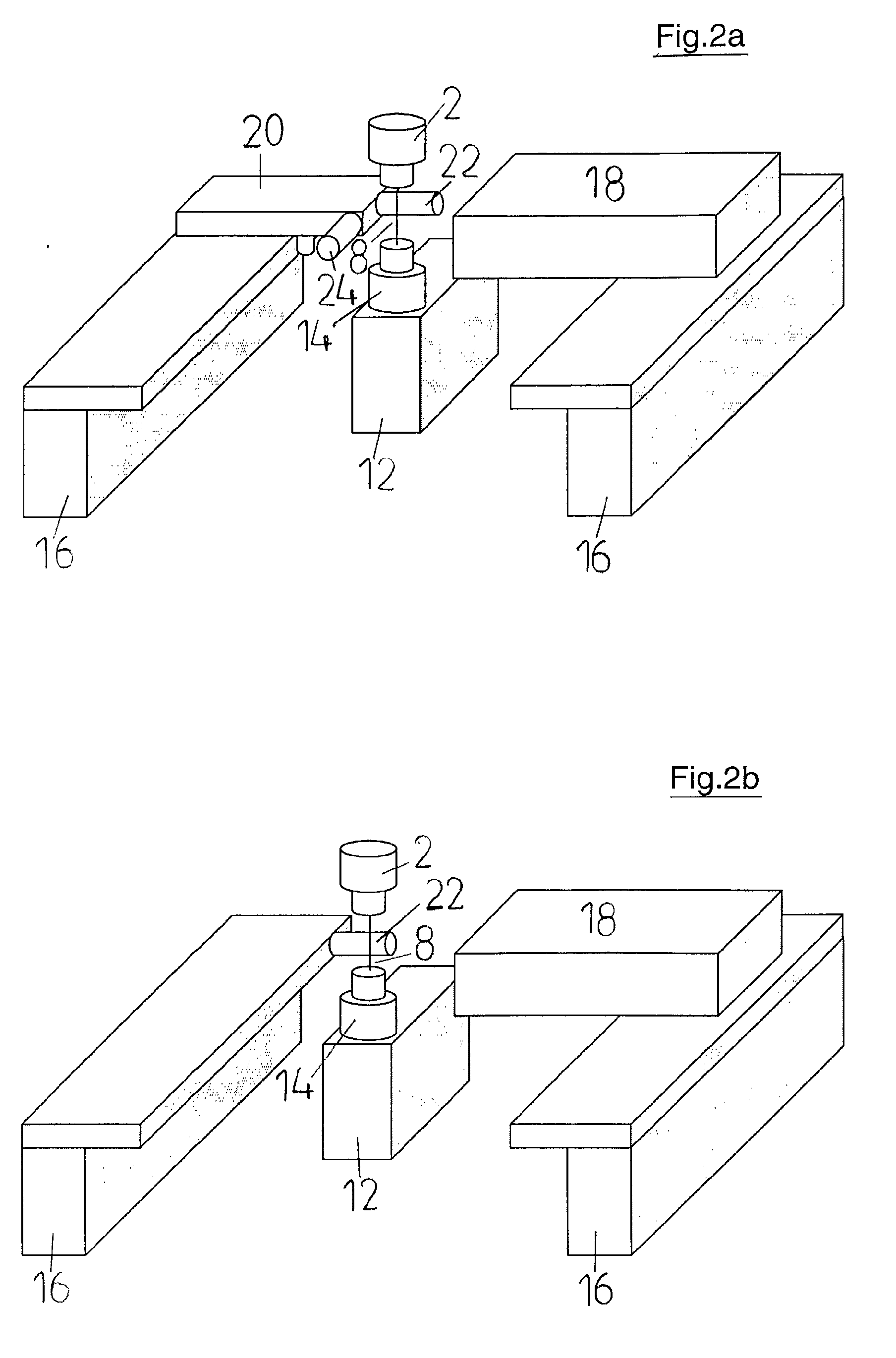 Patent EP1291110A1 - Method and apparatus for multiple wire ...