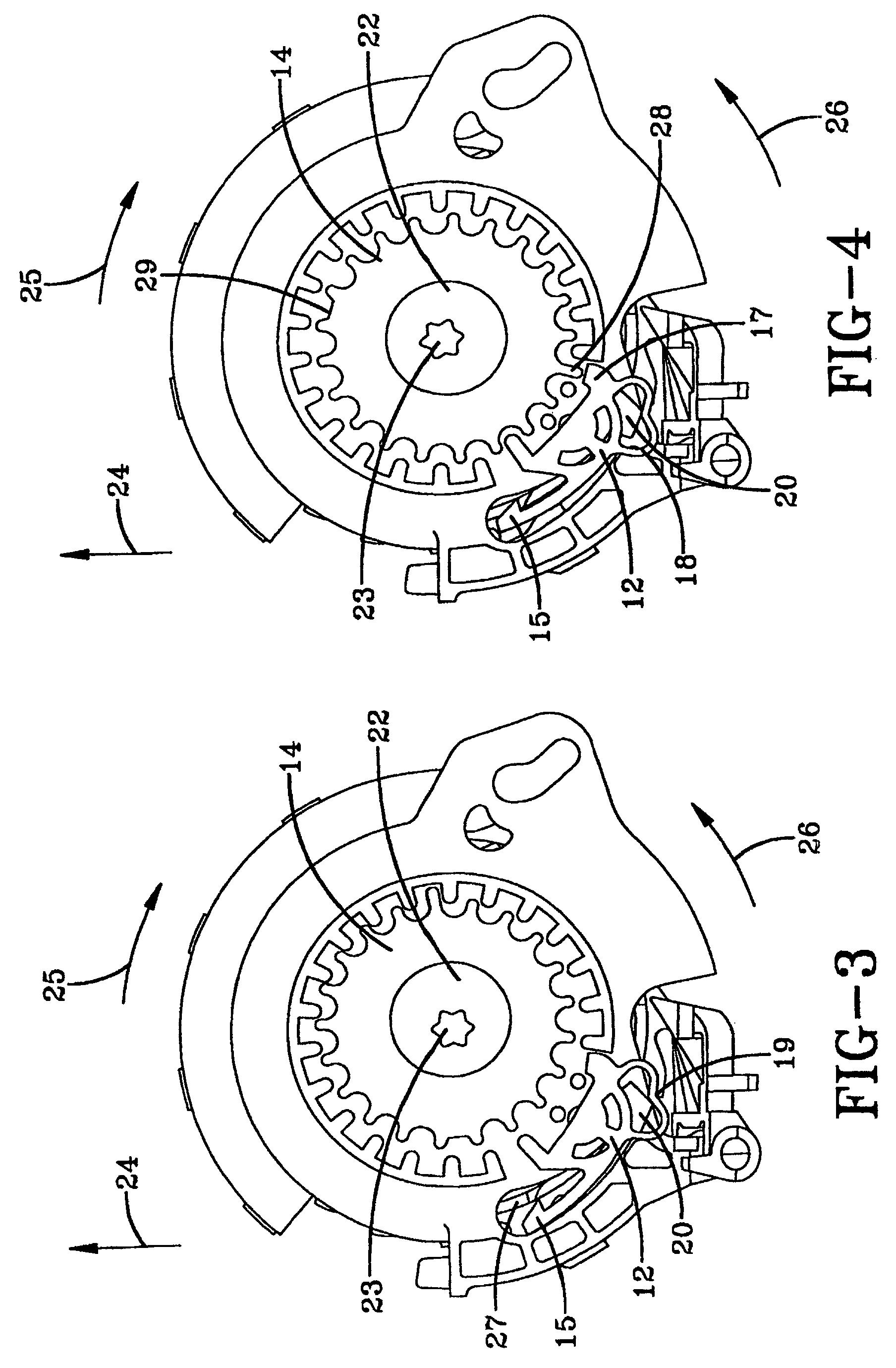 patent ep1298017b1 enrouleur de ceinture de s curit avec m canisme de blocage automatique. Black Bedroom Furniture Sets. Home Design Ideas
