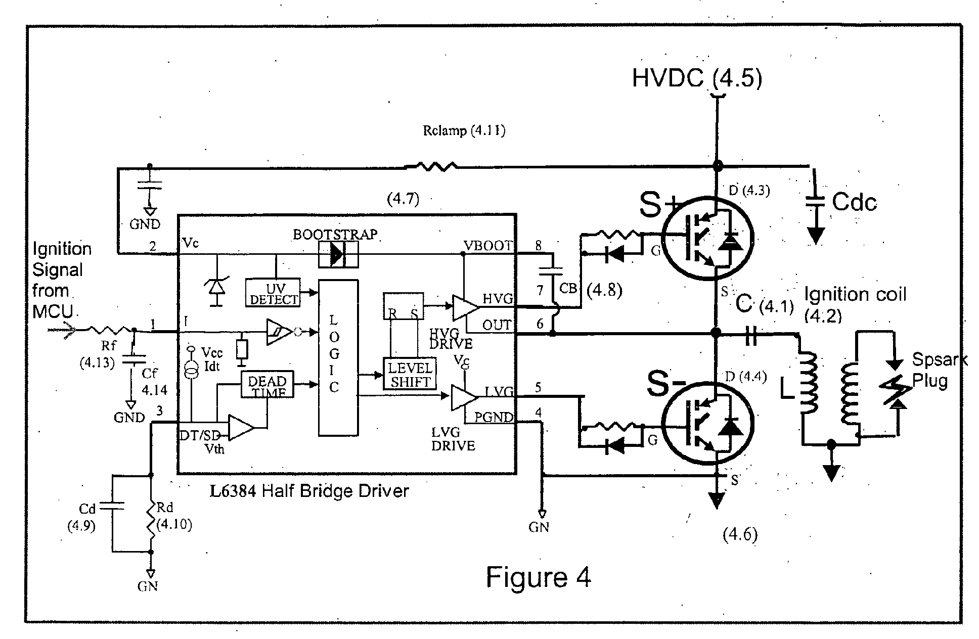 Cdi Ignition Diagram Wiring Schemes Honda Patent Ep1298320a2 Capacitor Discharge System 85 Force 1990