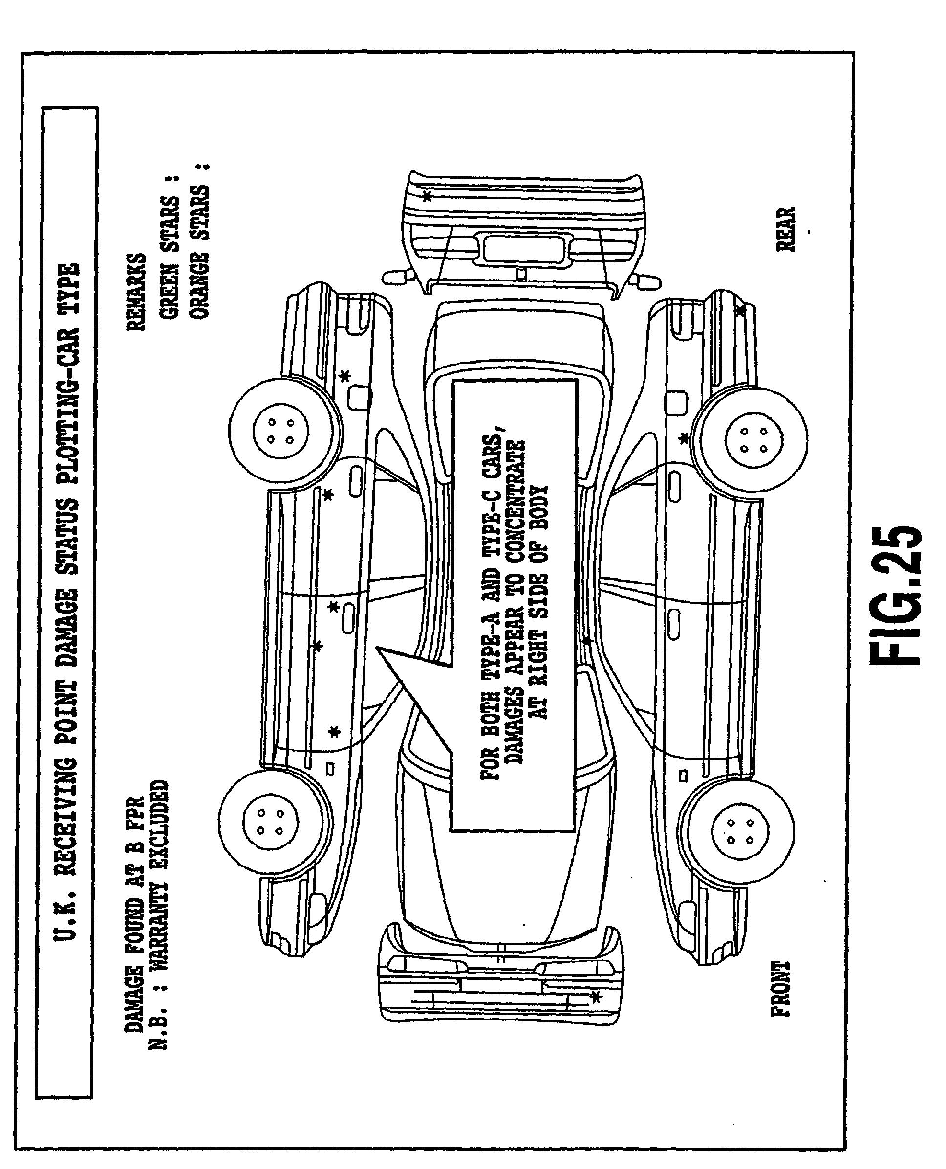 Patent EP1306322A1 - Damage status analysis method, damage status ...