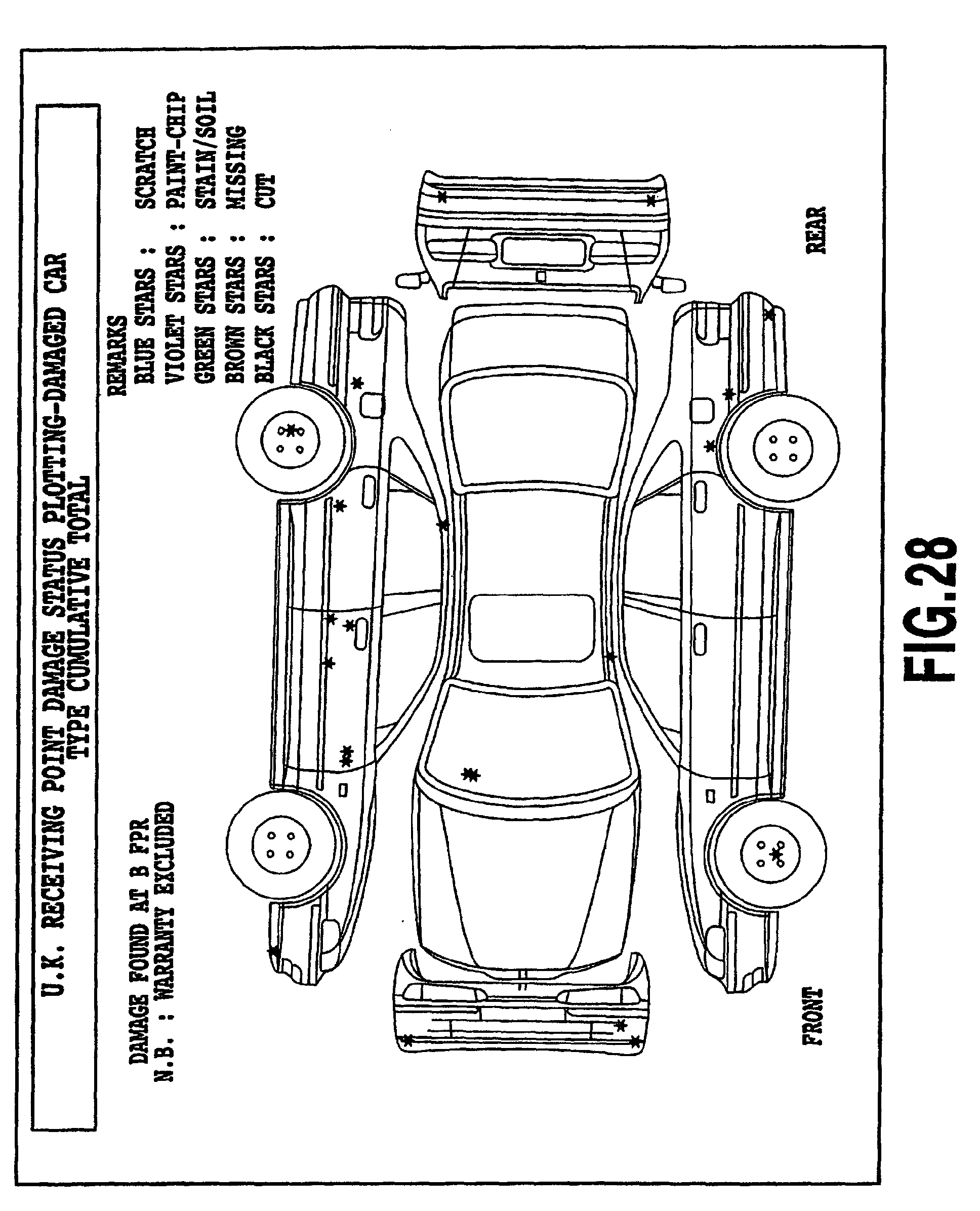 rental truck inspection diagram