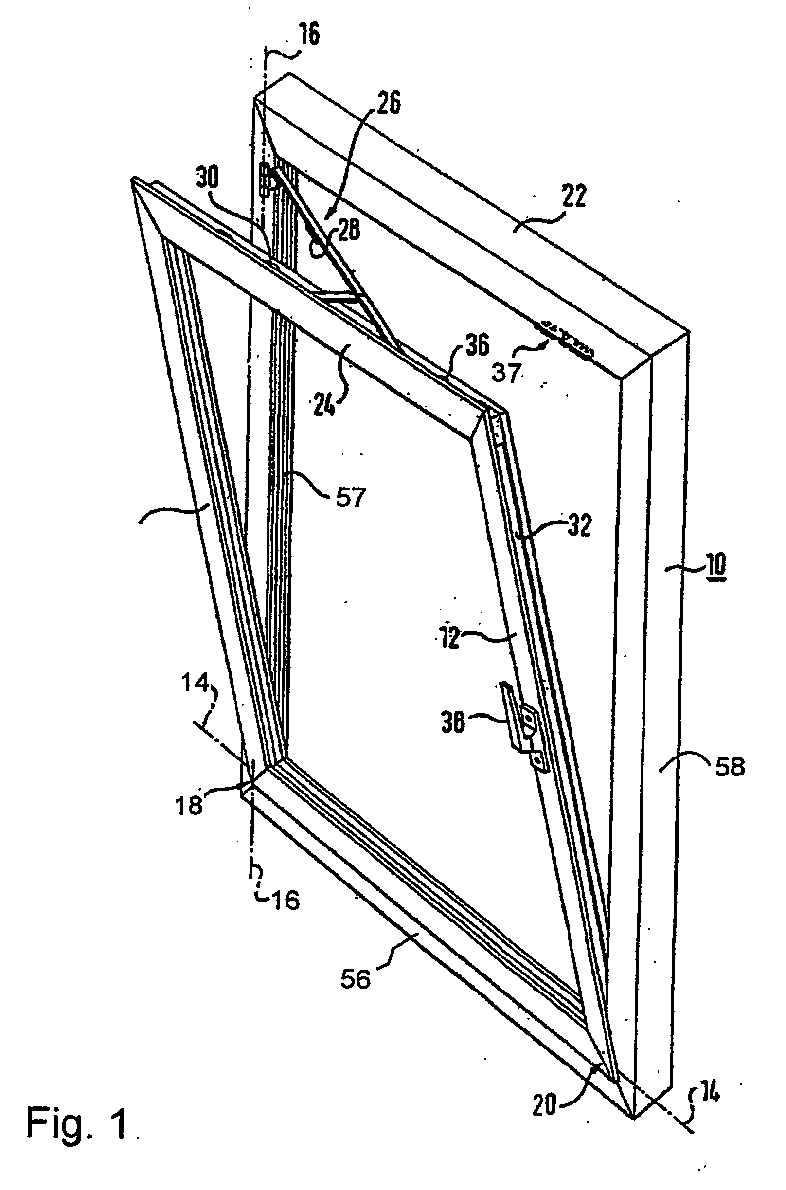Patent ep1309767b1 turn and tilt fitting for windows for Fenetre pvc dwg