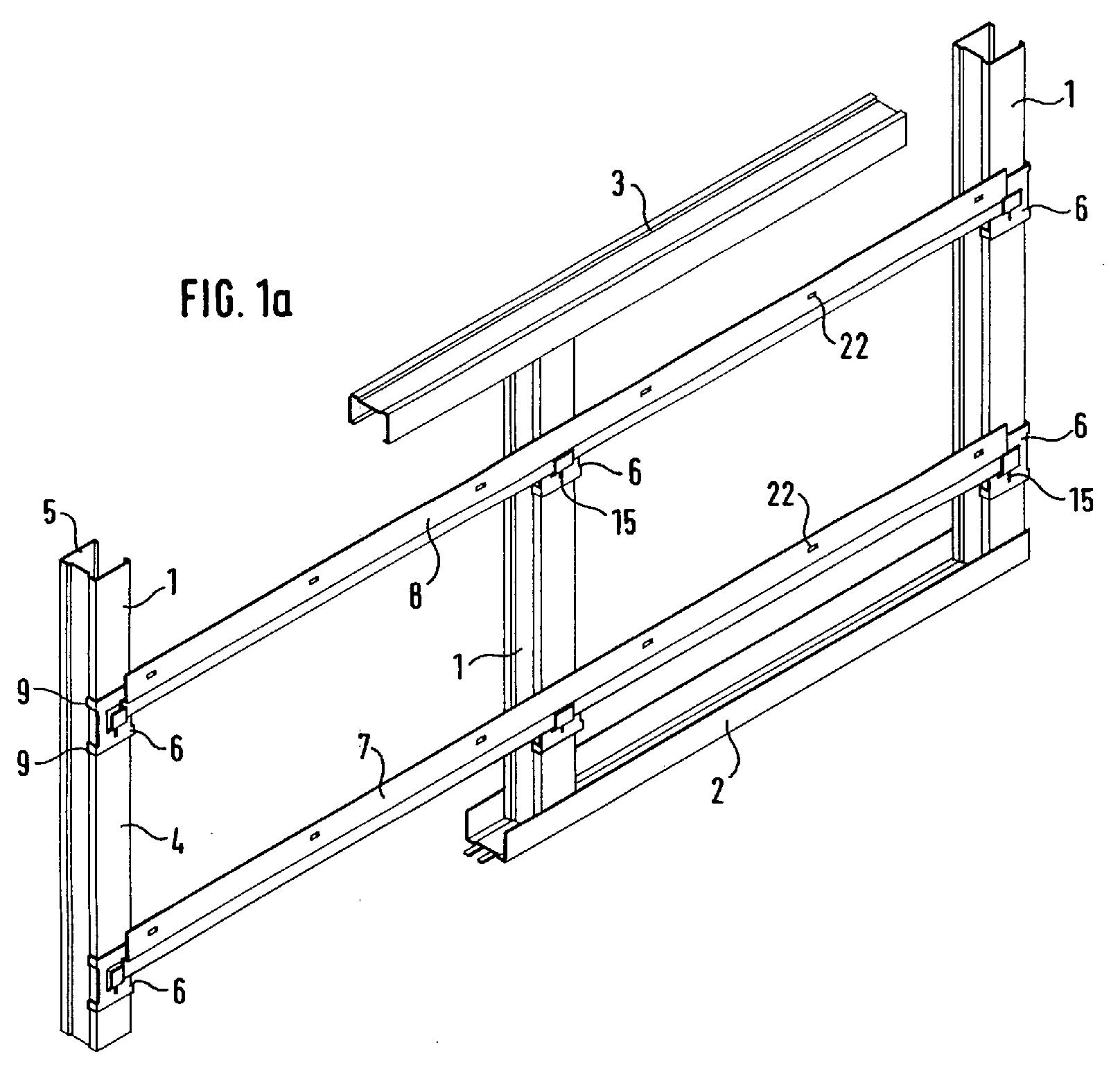 patent ep1321596a1 plattenmontagesystem zum erstellen. Black Bedroom Furniture Sets. Home Design Ideas