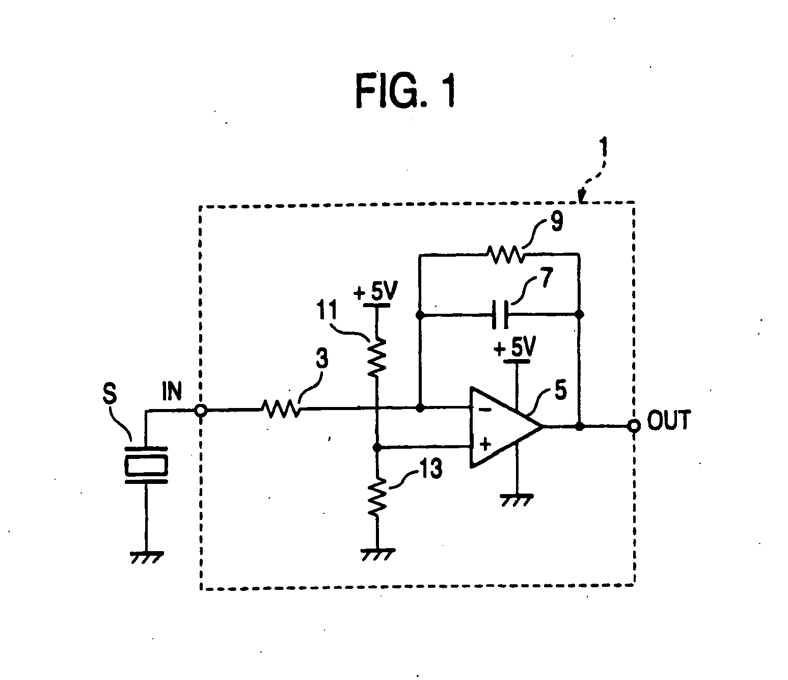 patent ep1338879b1 - charge amplifier for piezoelectric pressure sensor