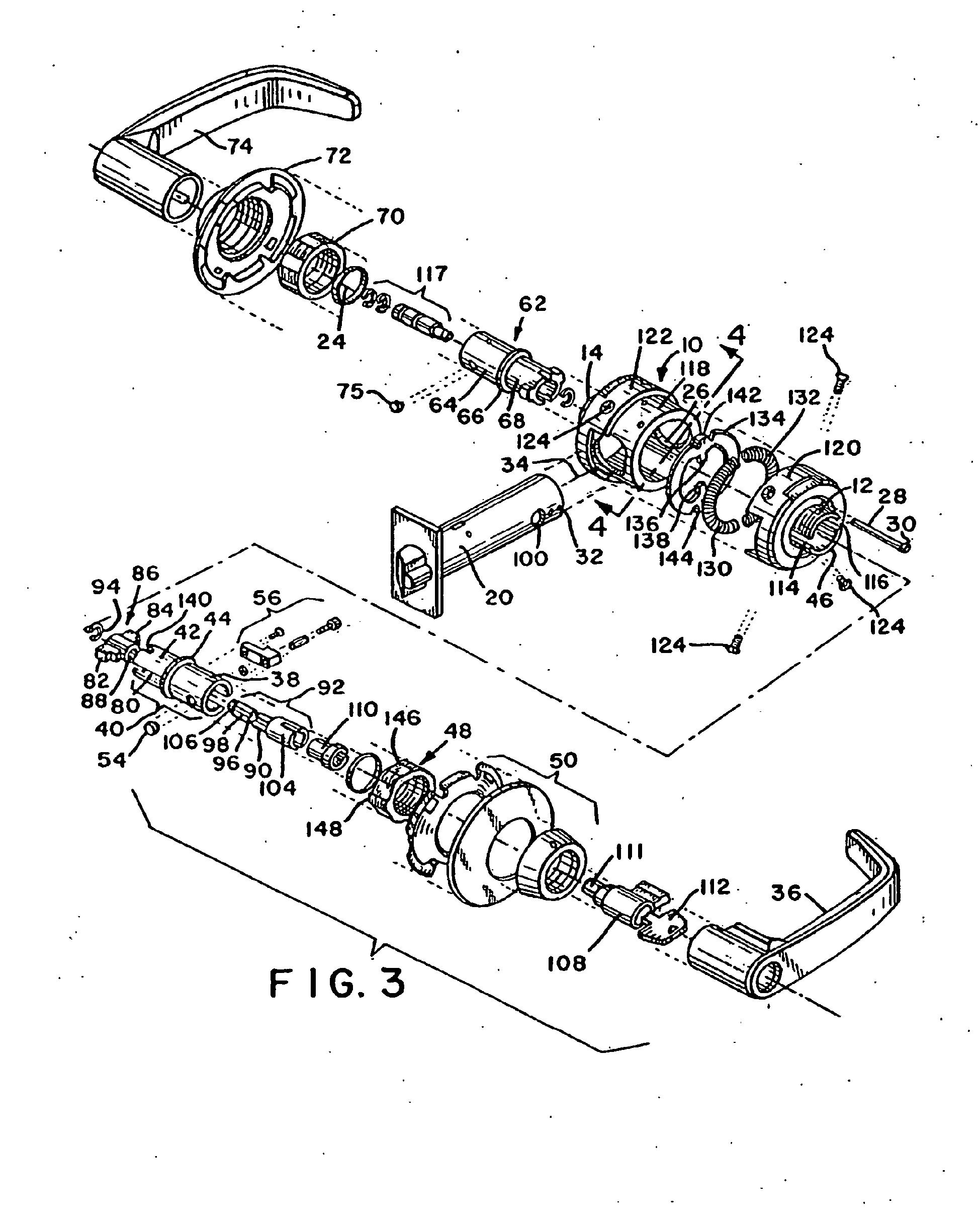 Patent Ep1356176b1 High Strength Lever Handle Lock