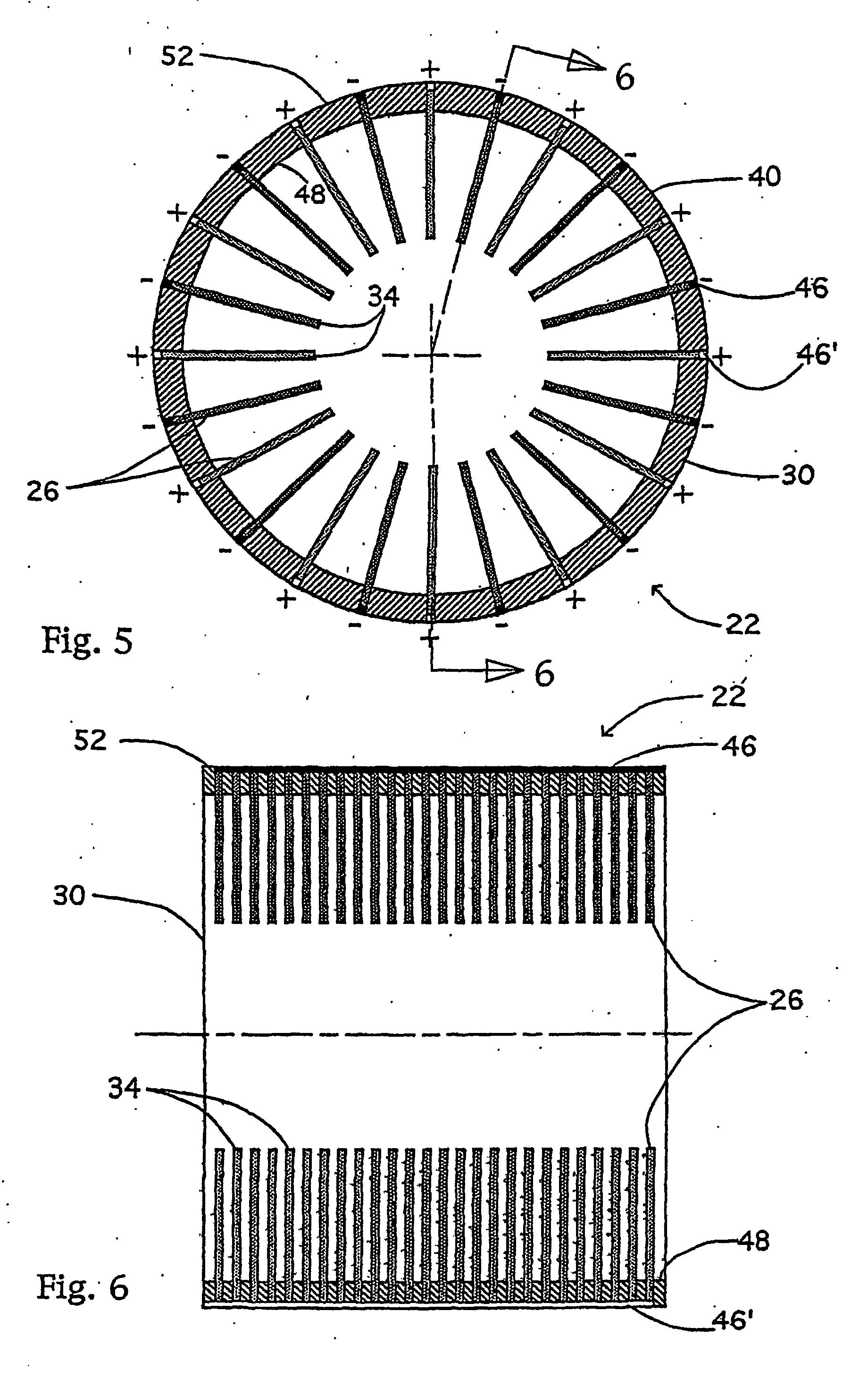 patent ep1368888b1 moteur electrostatique tres efficace a courant alternatif et courant. Black Bedroom Furniture Sets. Home Design Ideas