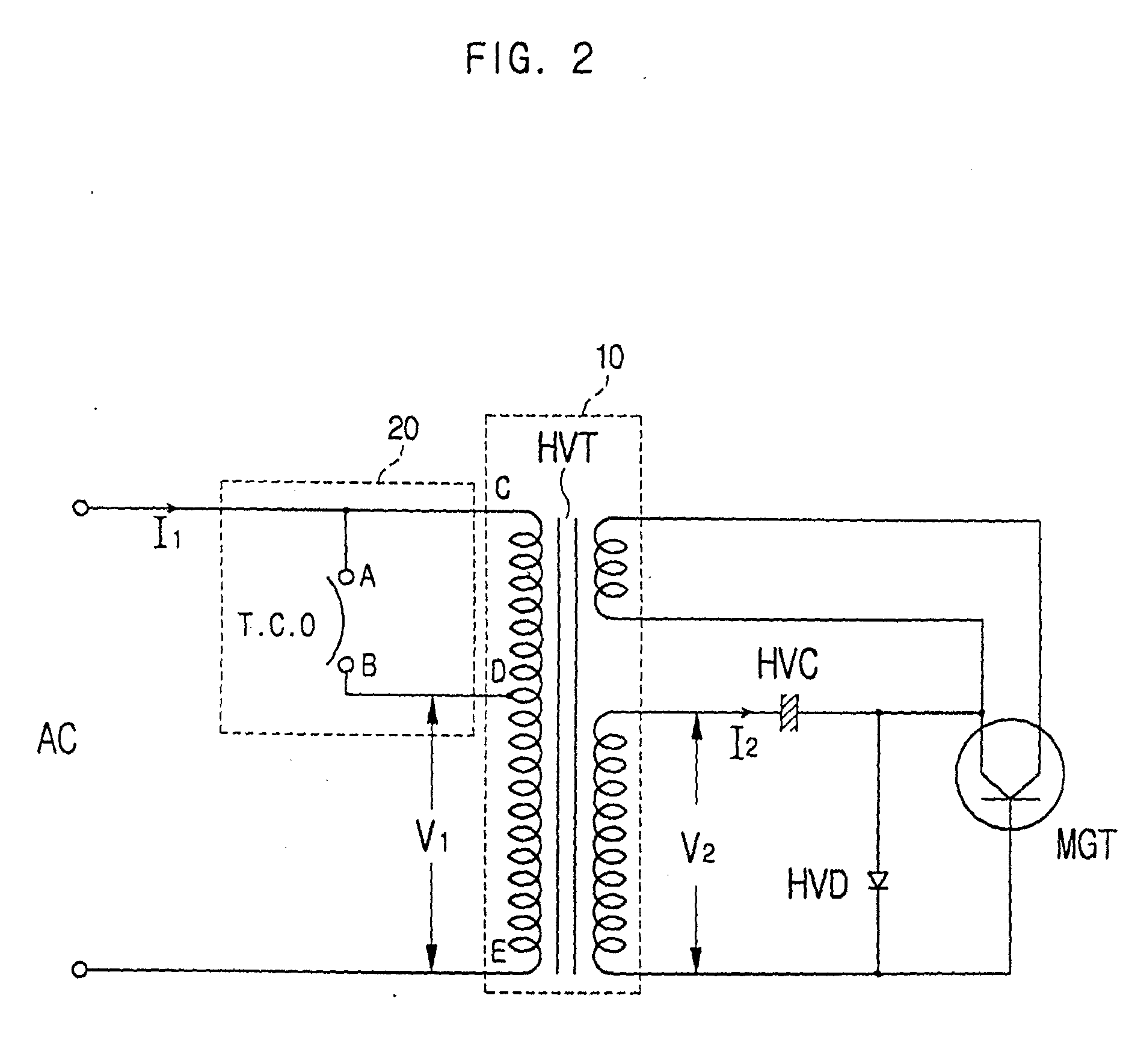 Patent Ep1379106a2 Microwave Oven And High Voltage