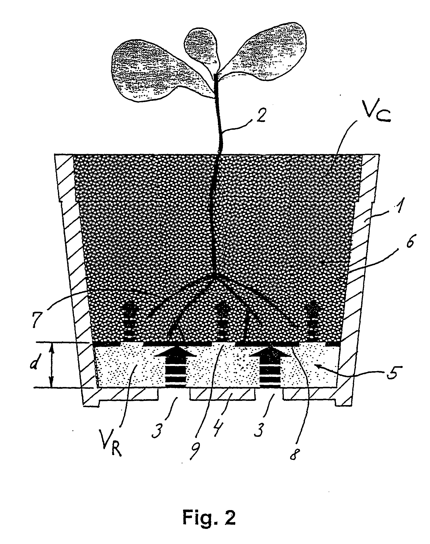 patente ep1427273b1 systeme d 39 arrosage par capillarite controlee google patentes. Black Bedroom Furniture Sets. Home Design Ideas