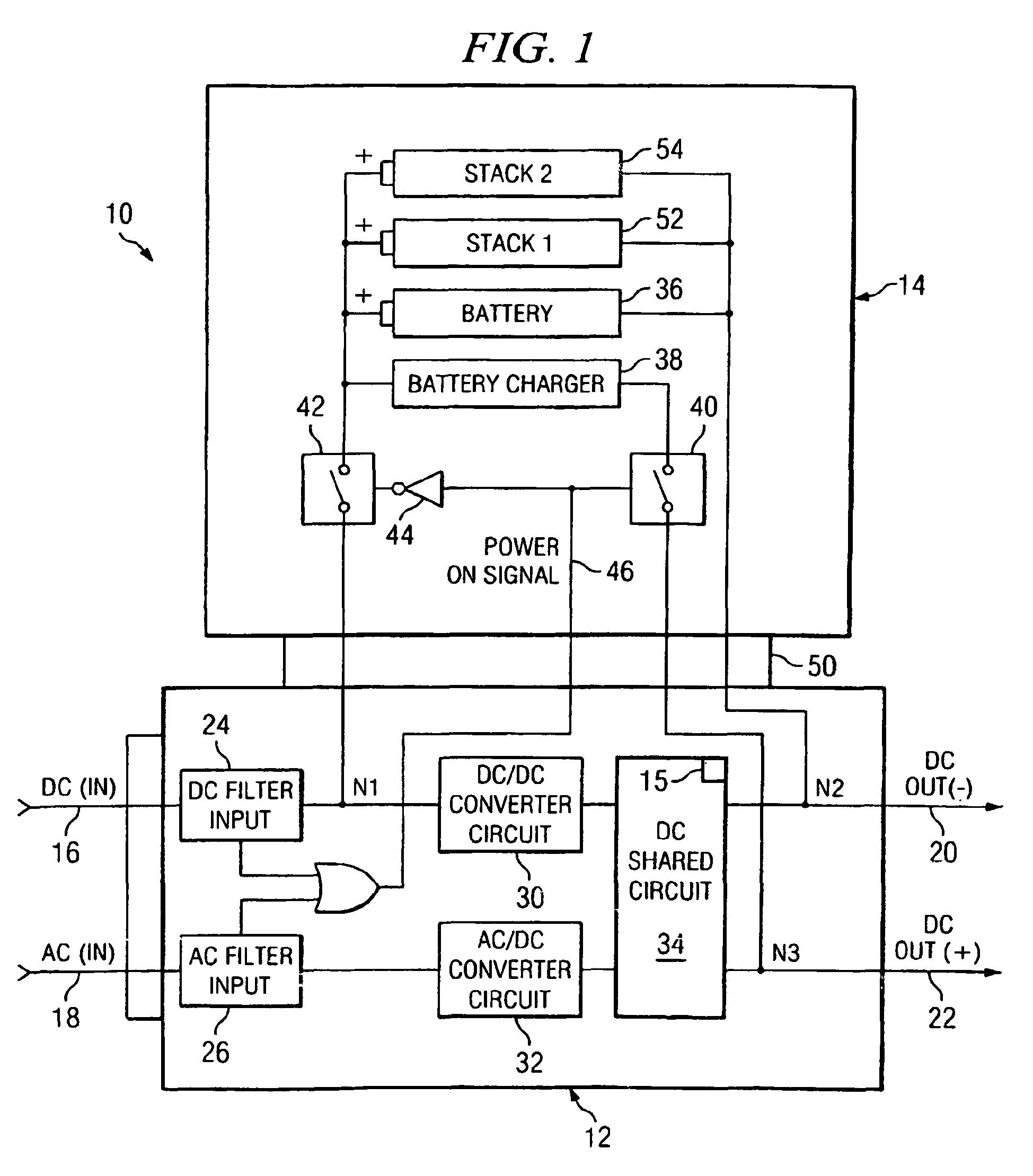 patent ep1440503b1 alimentation electrique en courant. Black Bedroom Furniture Sets. Home Design Ideas