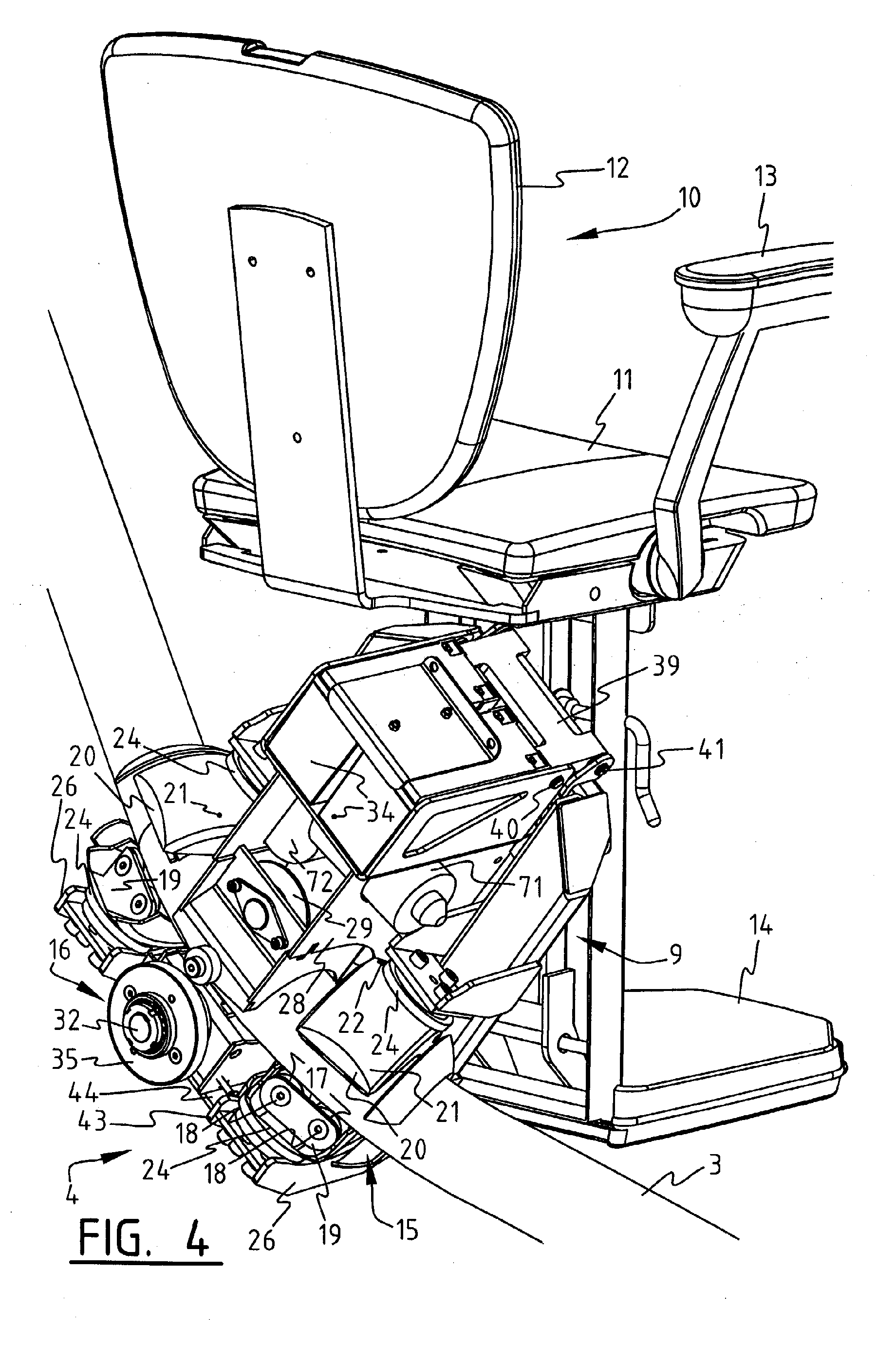 Patent EP A1 Drive for a stair lift Google Patents