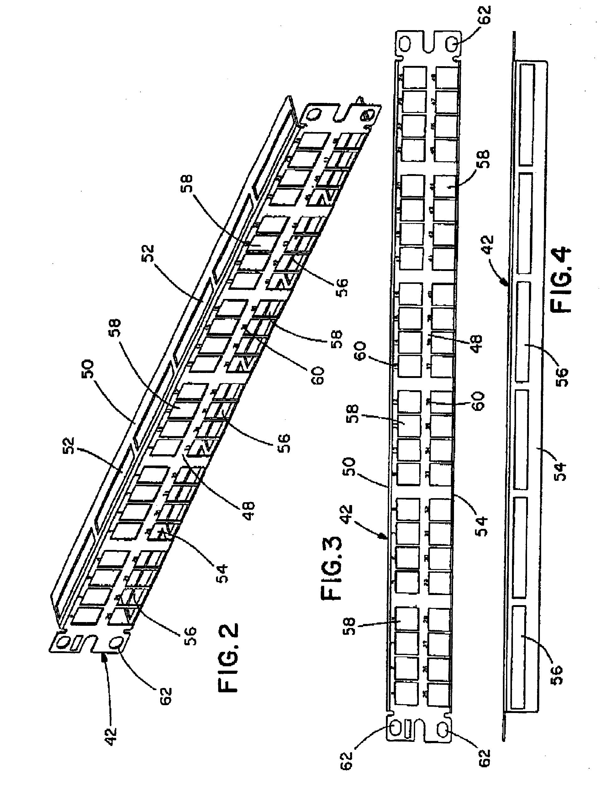 Patent Ep1478056a1 High Density Keystone Jack Patch