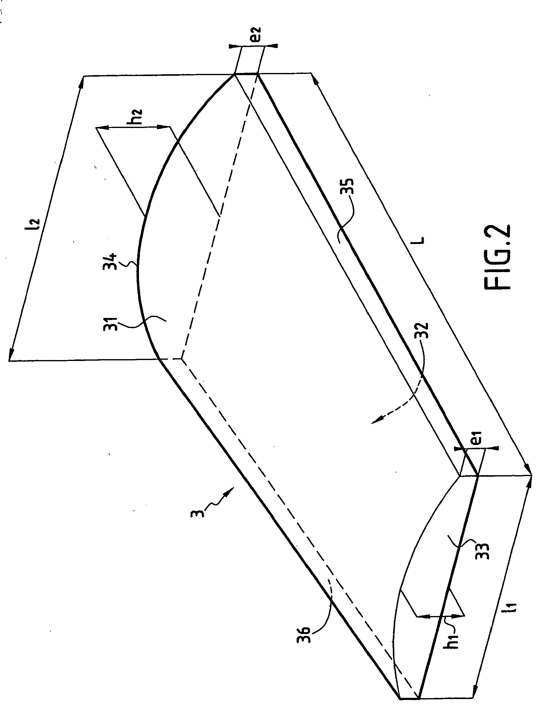 Patent ep1496169b1 proc d de r alisation d 39 une toiture for Poser des tuiles canal