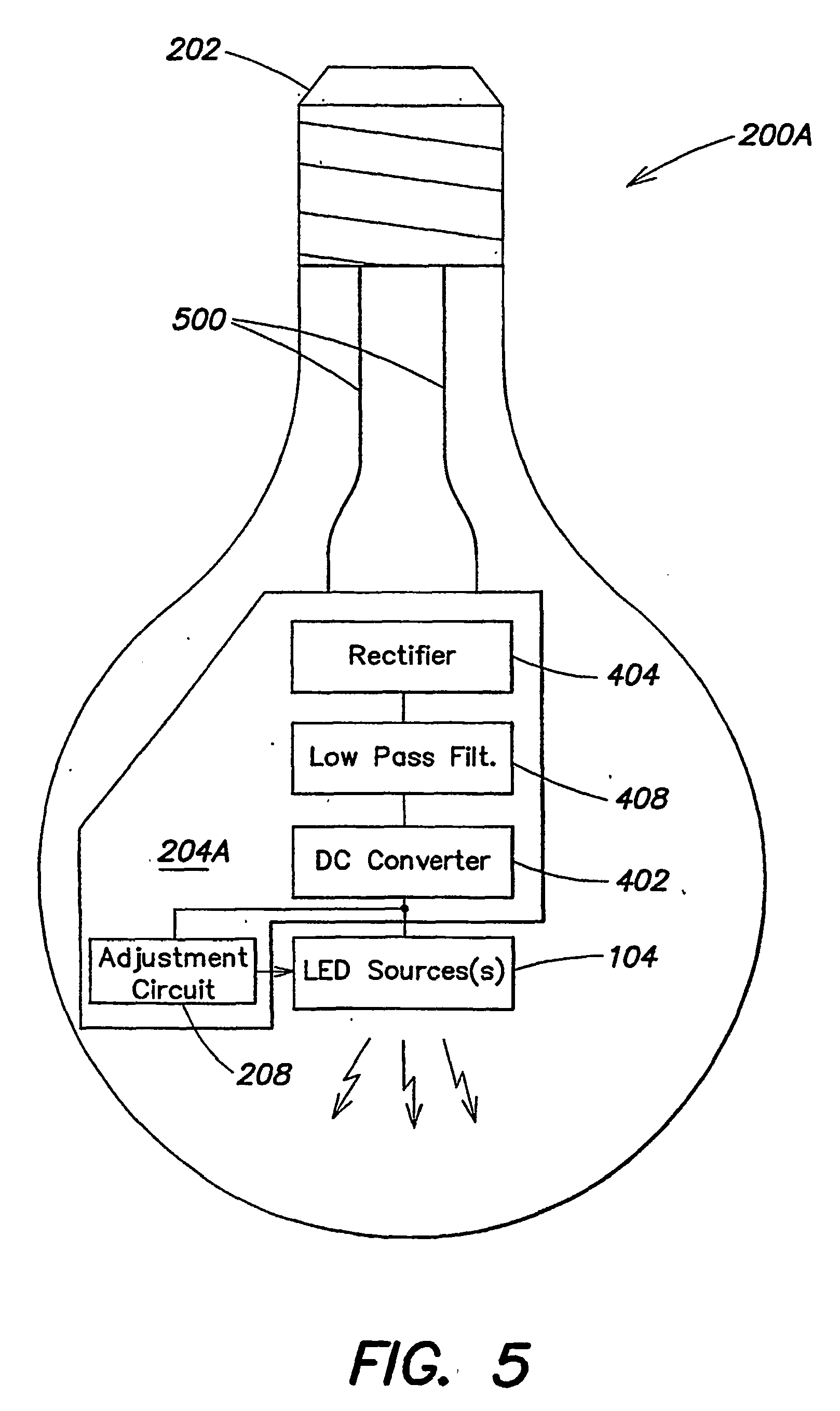 Patent Ep1502483b1 Led Dimming Controller Google Patents Phillips Ballast Wiring Diagram Single Phase 208 Drawing