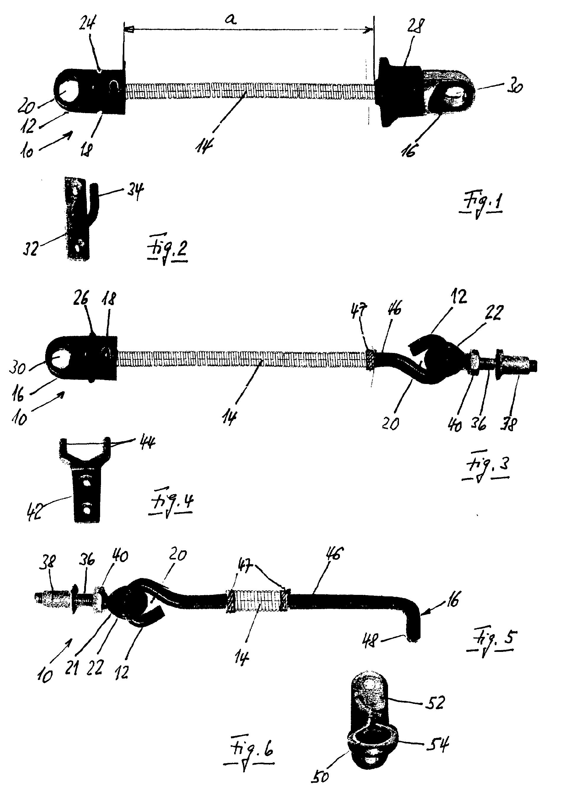 patent ep1516988a2 kupplung zum schliessen von t r und. Black Bedroom Furniture Sets. Home Design Ideas
