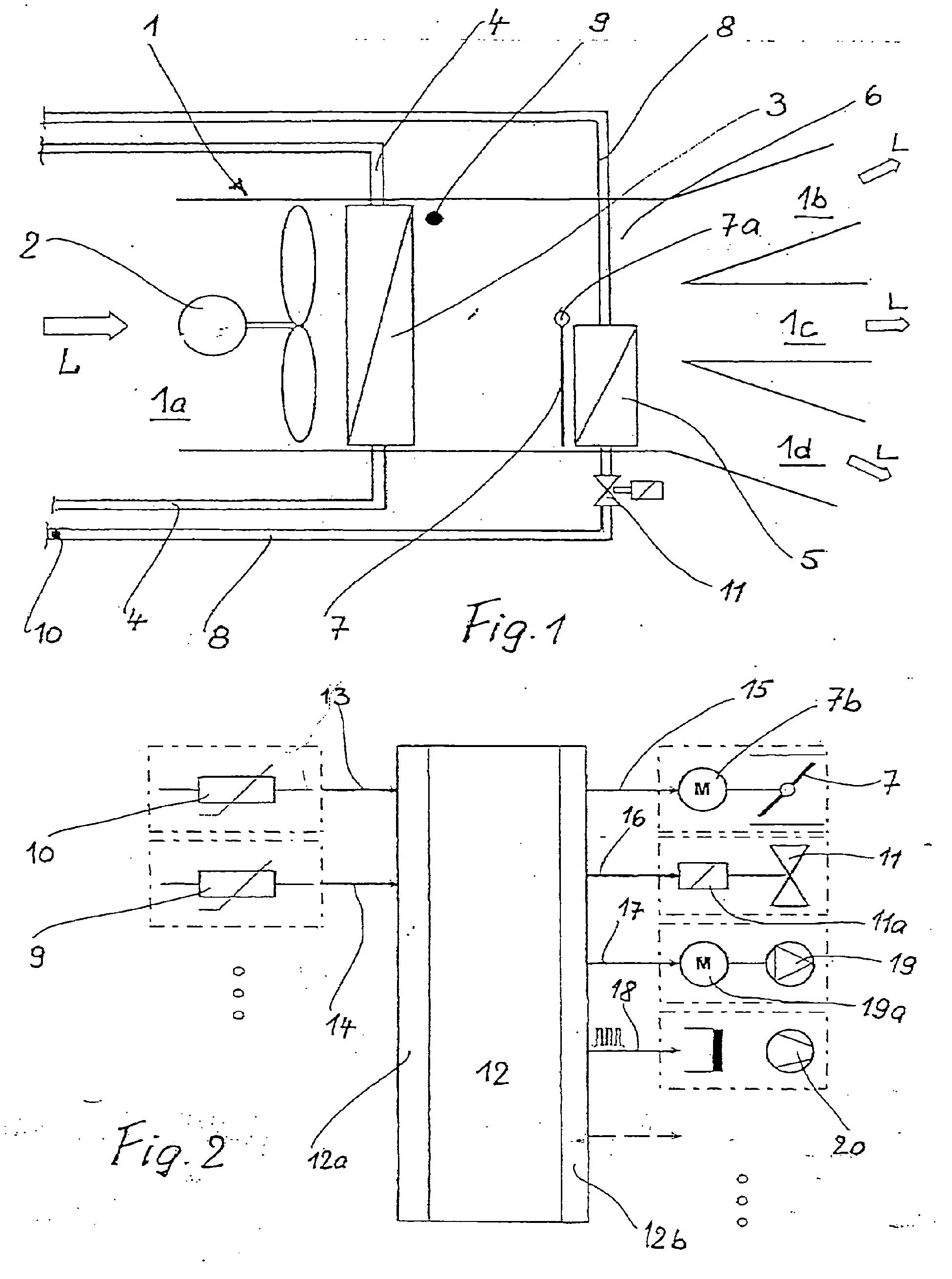 lufttemperatur klimaanlage automobil bau auto systeme. Black Bedroom Furniture Sets. Home Design Ideas