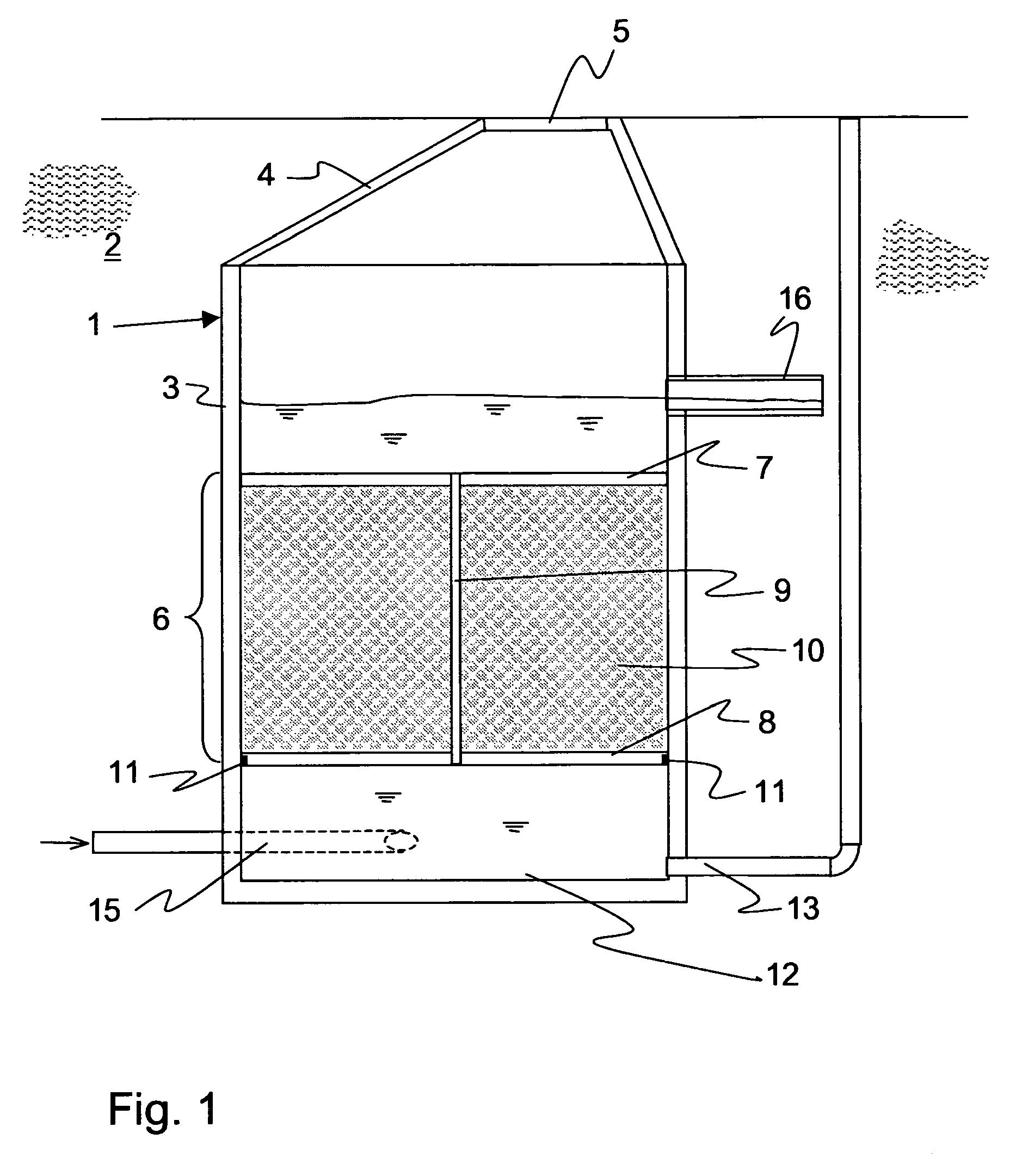 patent ep1522525b1 vorrichtung und schacht zur dezentralen behandlung von wasser sowie. Black Bedroom Furniture Sets. Home Design Ideas