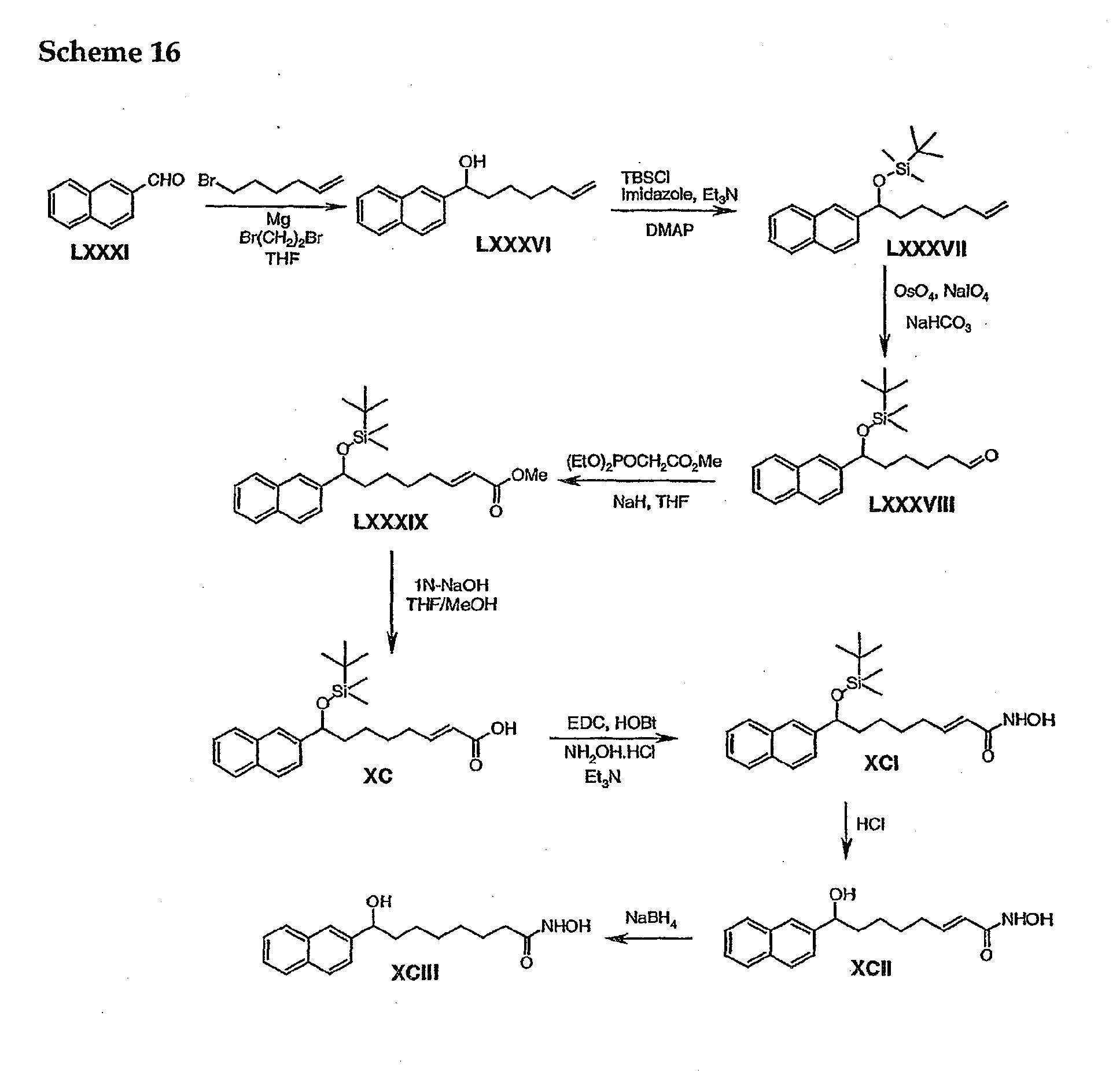 Patent Ep1524262a1 Inhibitors Of Histone Deacetylase