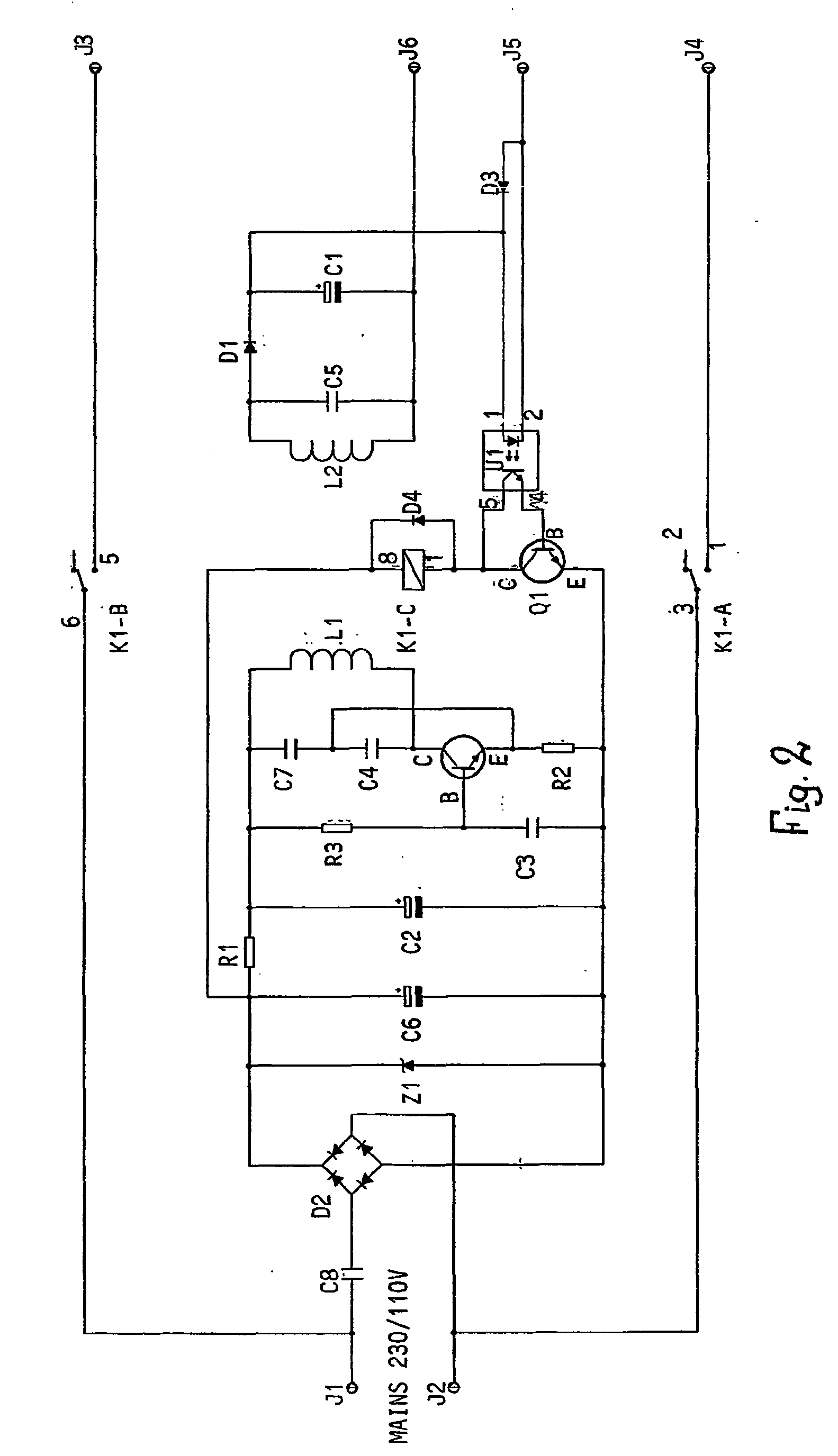 imgf0002 patent ep1535382b1 an off mains device for electrical okin dual motor lift chair wiring diagram at cos-gaming.co