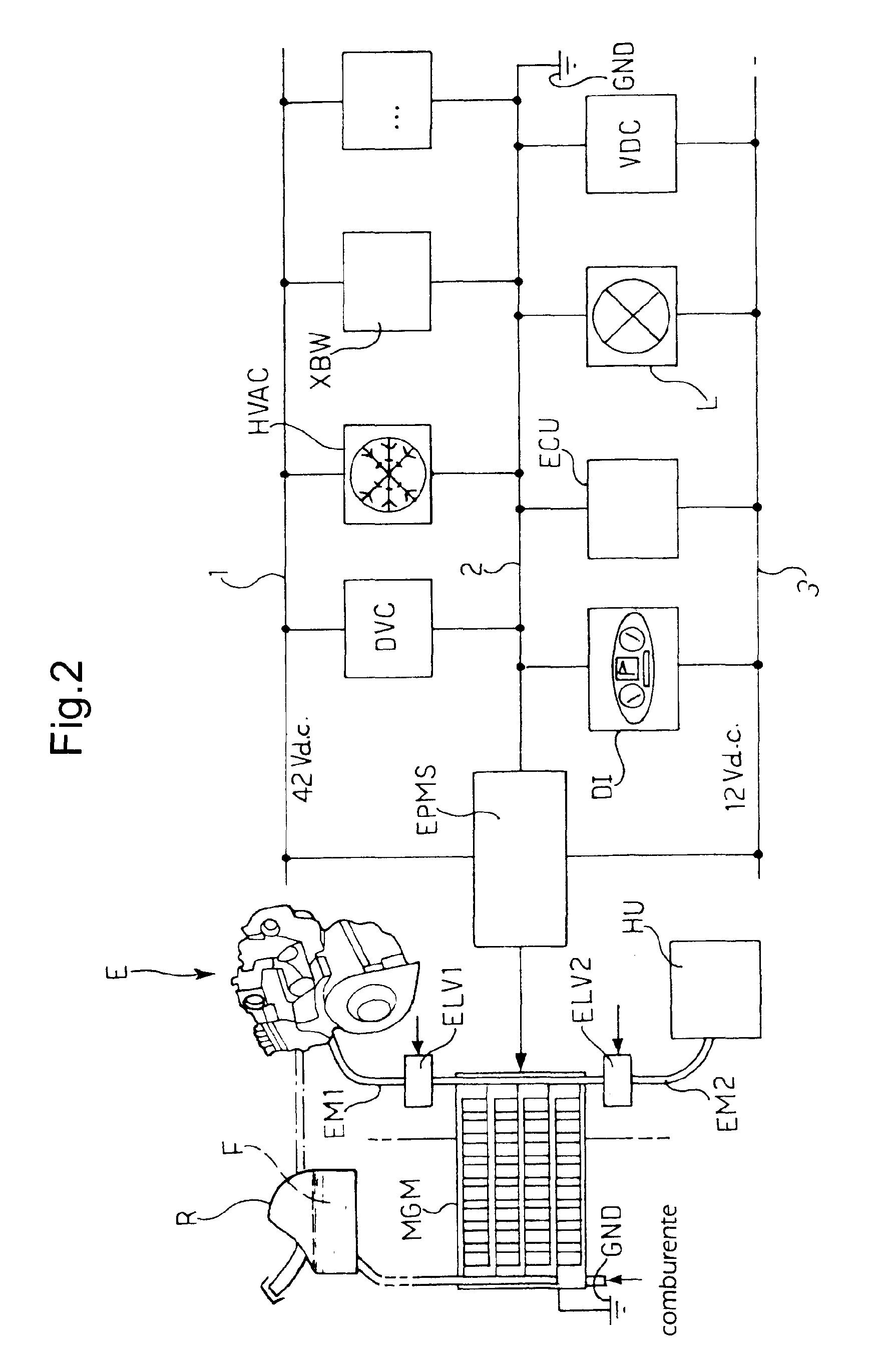 Patent EP1561632A2 - System zum generieren und verteilen von Energy ...