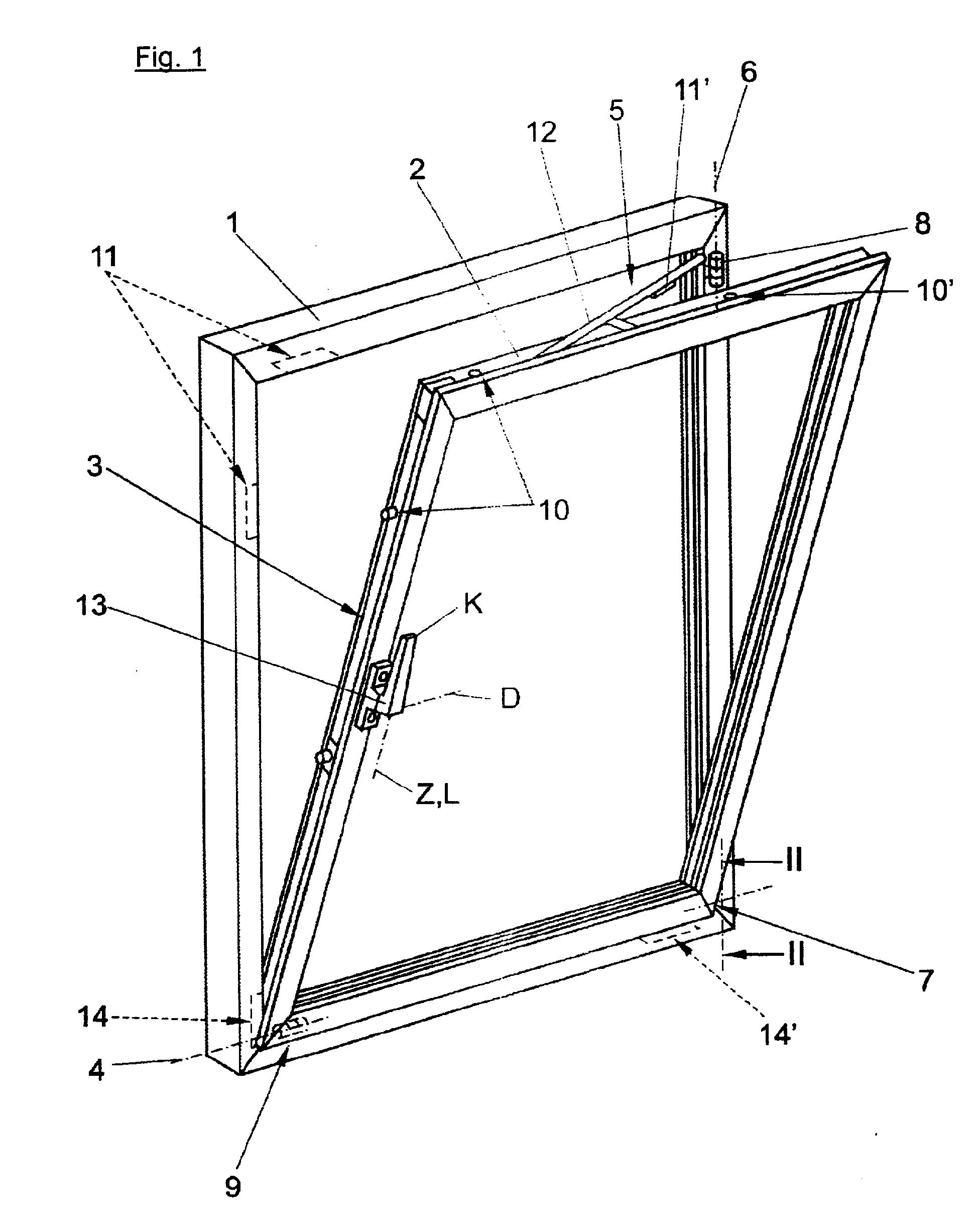 patent ep1577477a2 ecklager f r einen dreh kipp beschlag google patents. Black Bedroom Furniture Sets. Home Design Ideas