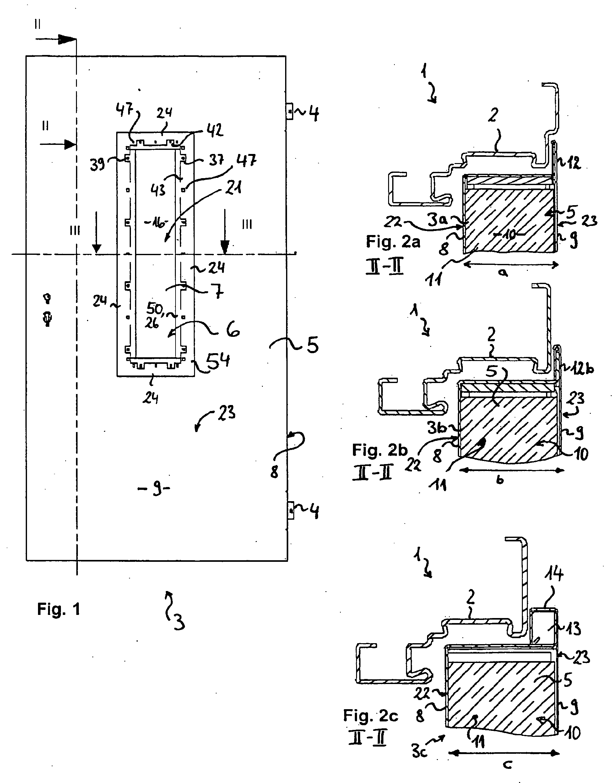 patent ep1586734b1 verglaste feuerschutz t r google. Black Bedroom Furniture Sets. Home Design Ideas