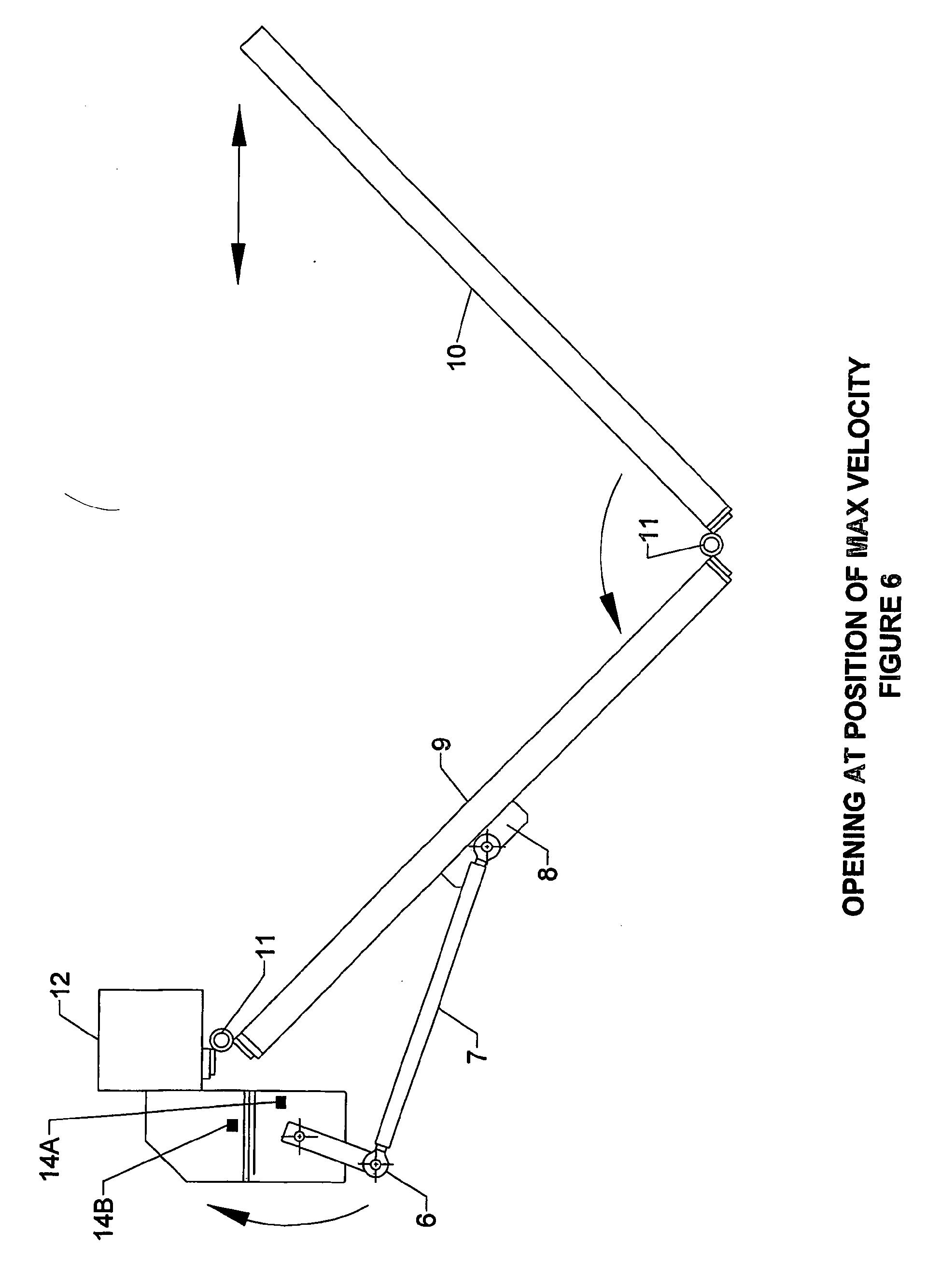 Patent Ep1595050b1 Folding Leaf Gate Google Patents