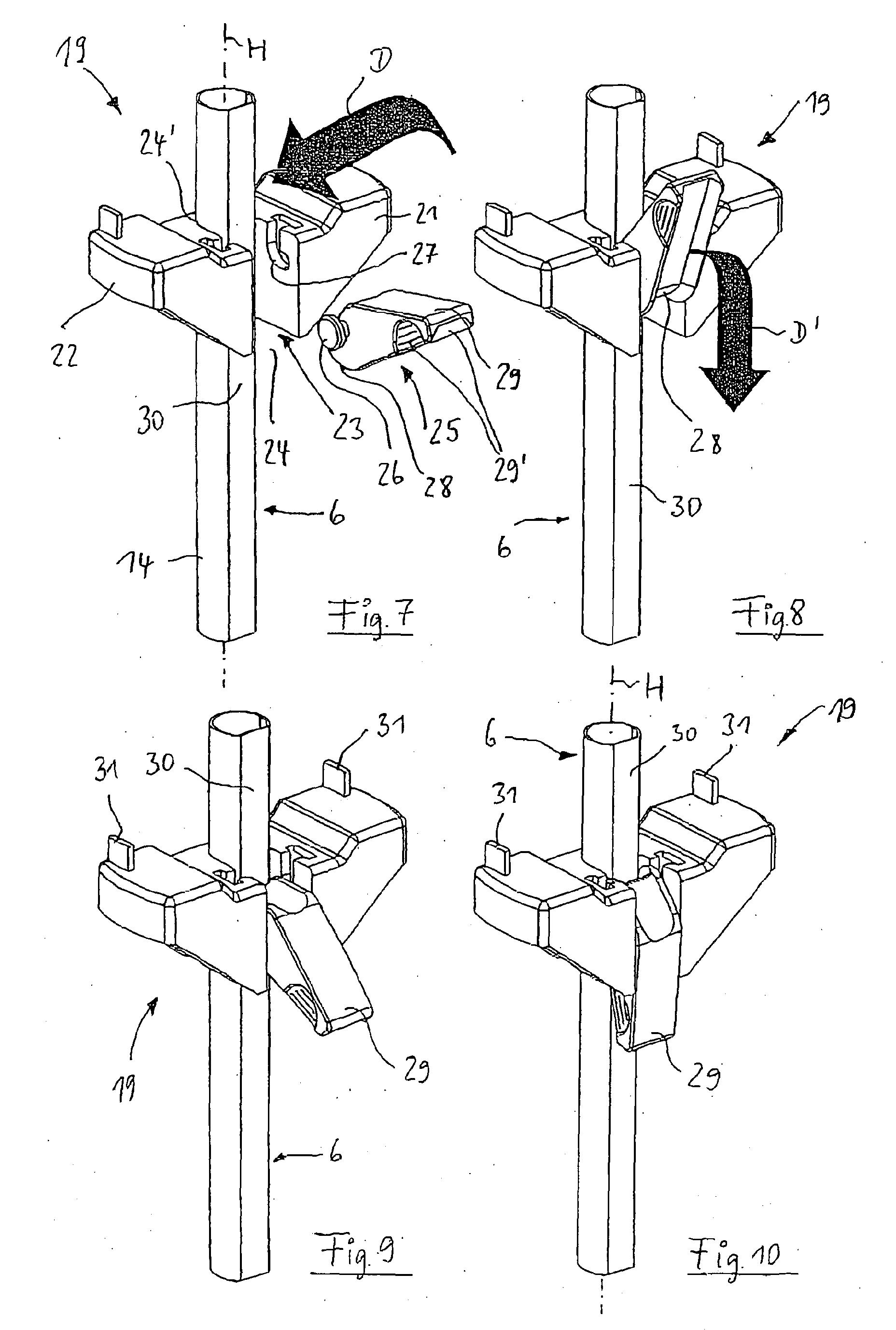 Patent EP1597985A1 - Eckschrank, insbesondere Kücheneckschrank ... | {Kücheneckschrank 4}