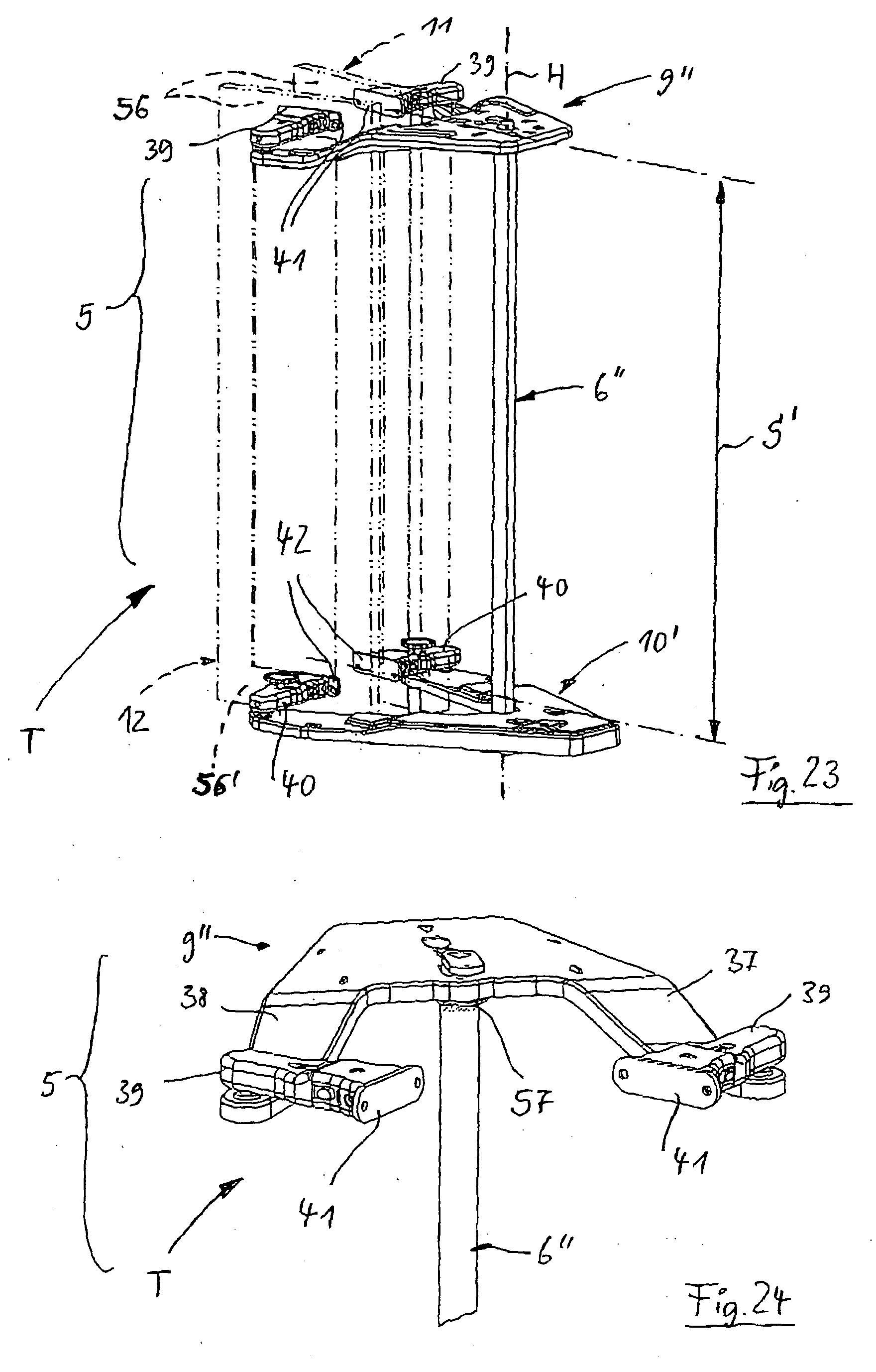 Patent EP1597985A1 - Eckschrank, insbesondere Kücheneckschrank ... | {Kücheneckschrank 8}