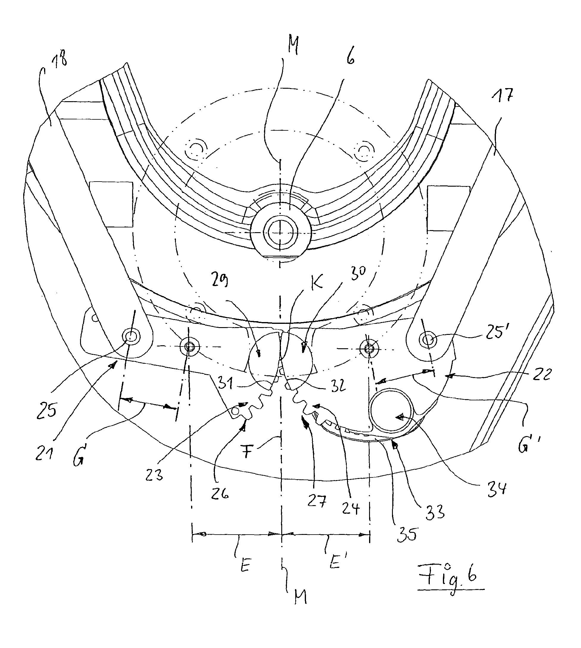Patent EP1600081A2 - Eckschrank, insbesondere Kücheneckschrank mit ... | {Kücheneckschrank 41}