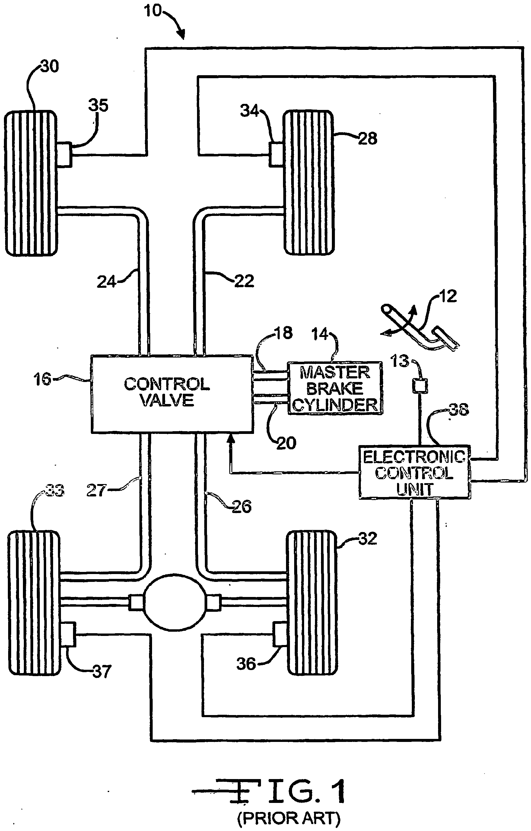 Patent EP1603781B1 - An anti-lock brake system with continuous wheel
