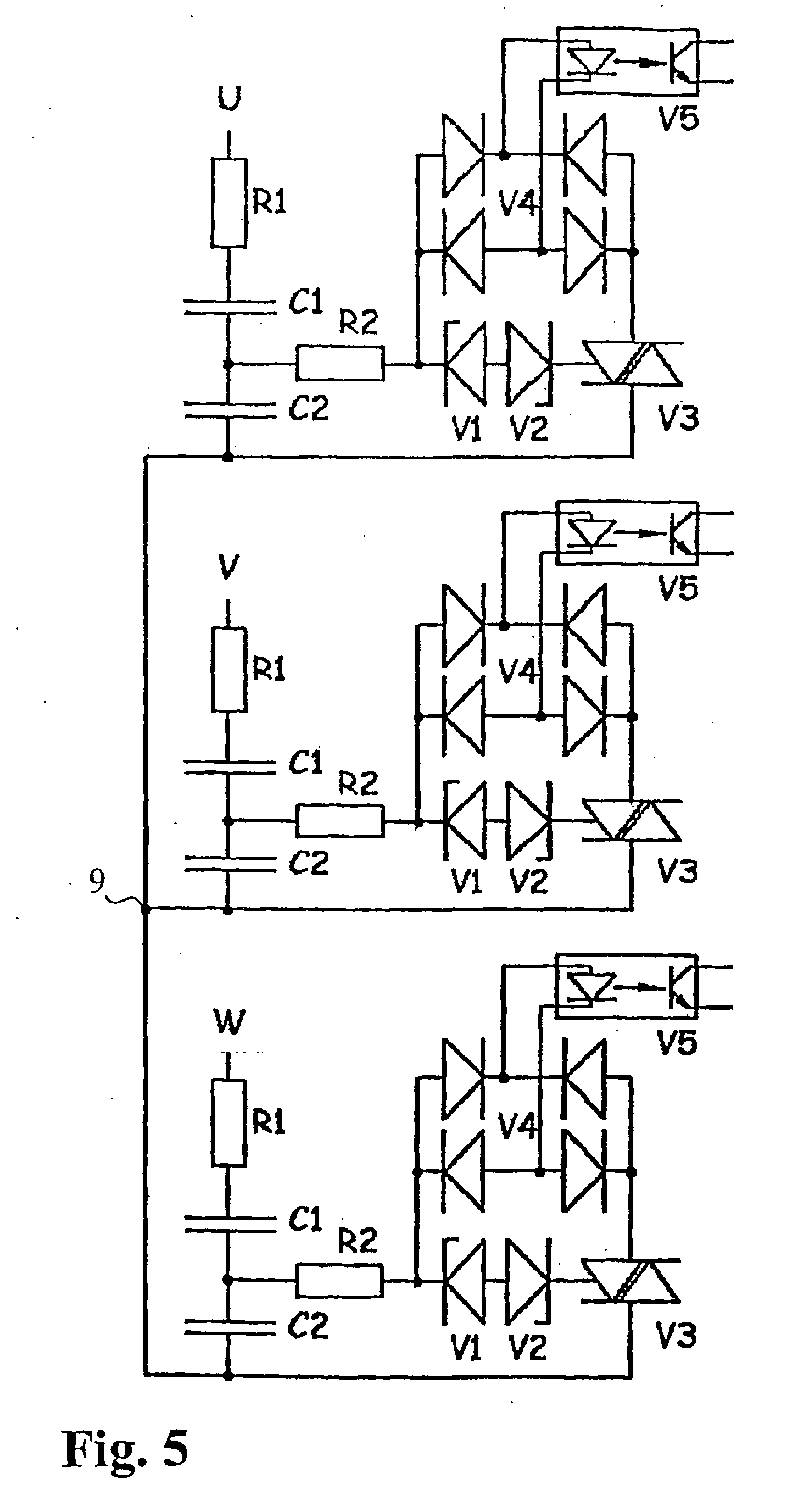 patent ep1616379b1 phase failure detector and a device patent drawing