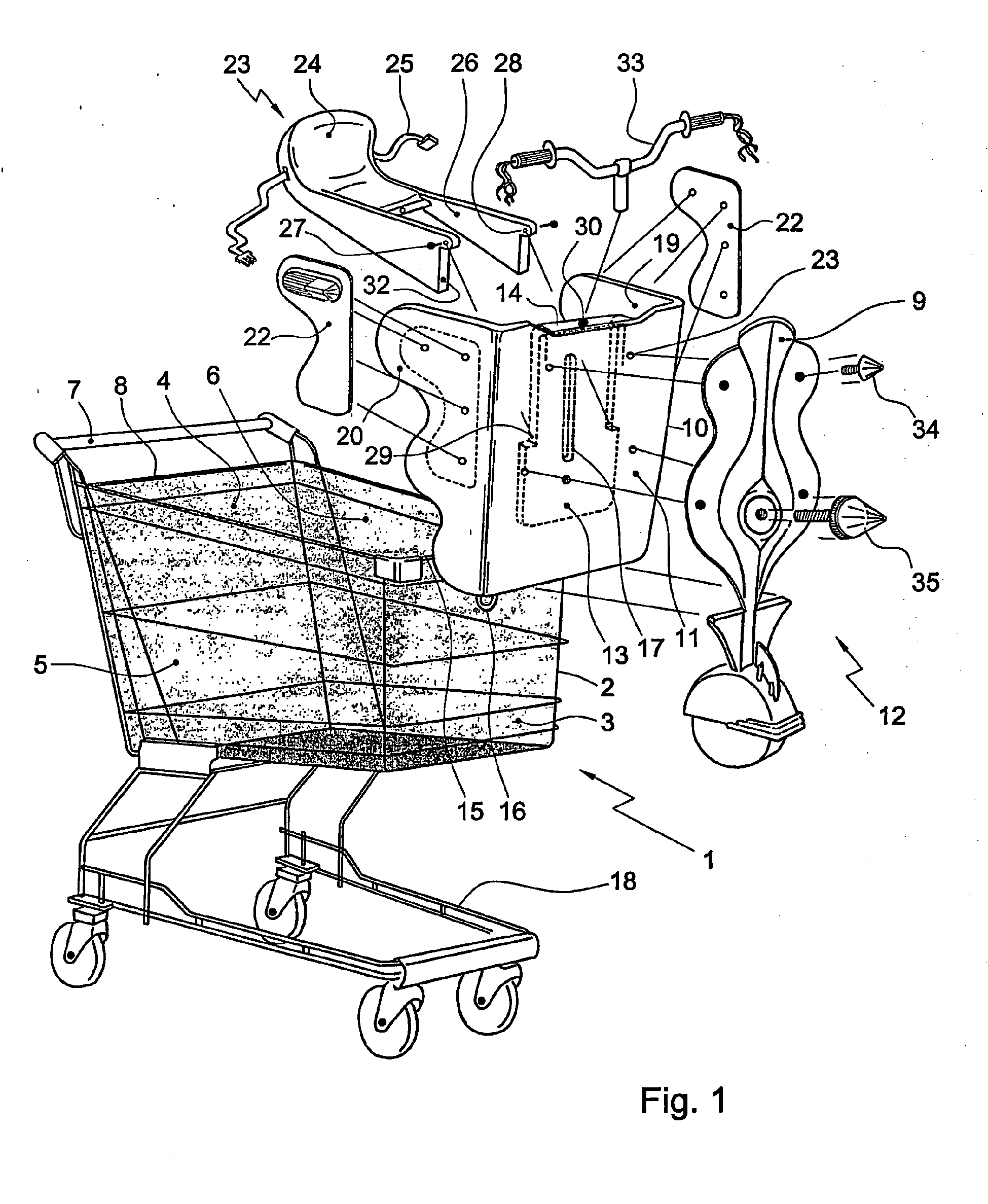 It's just a photo of Sweet Shopping Cart Drawing
