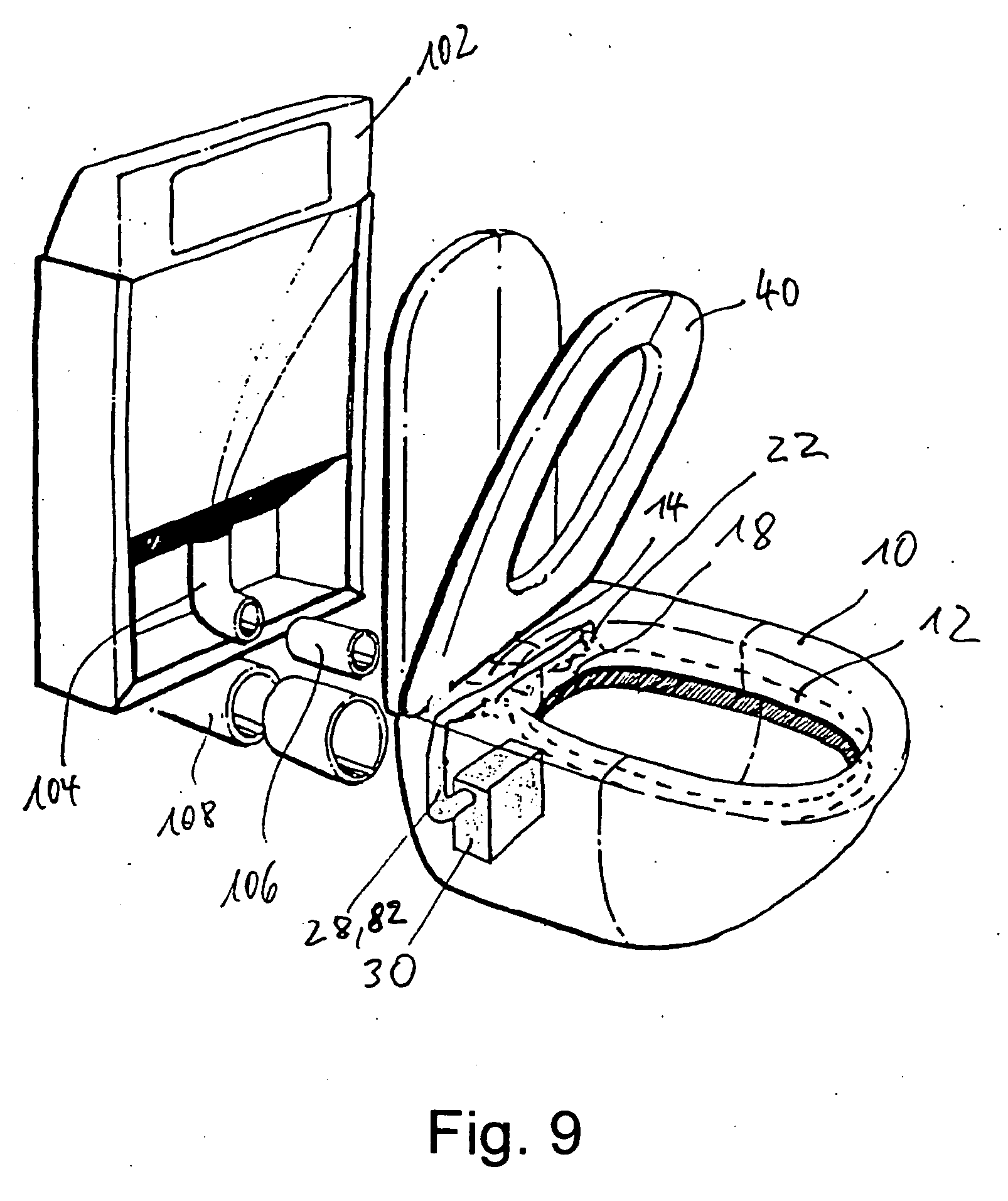 patent ep1621690b1 wc mit geruchsabsaugung google patents. Black Bedroom Furniture Sets. Home Design Ideas